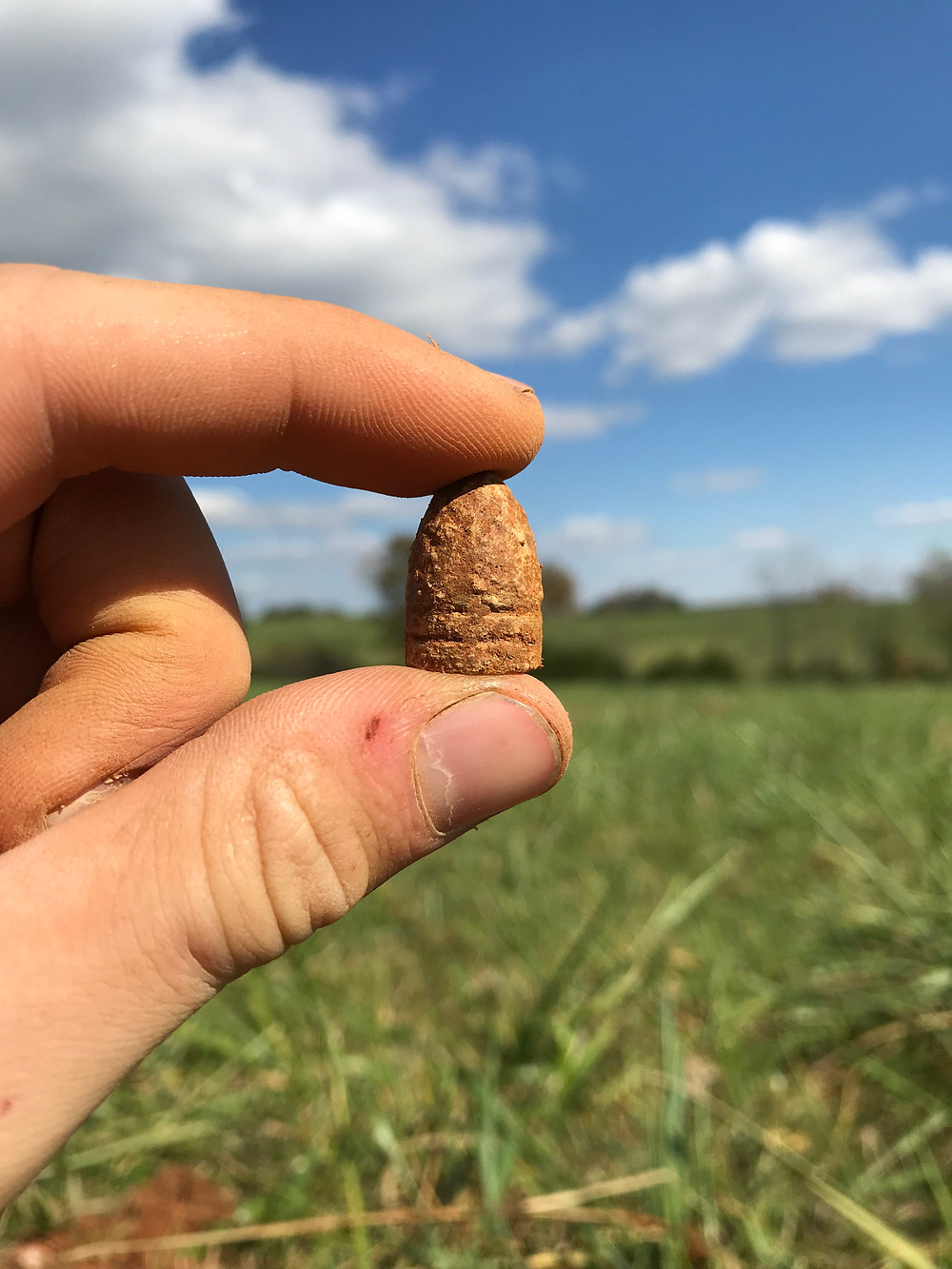 My first Burnside bullet