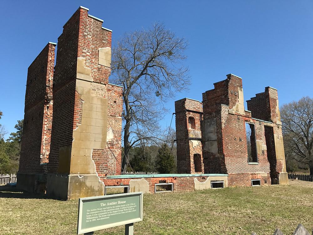 Ruins of Ambler House