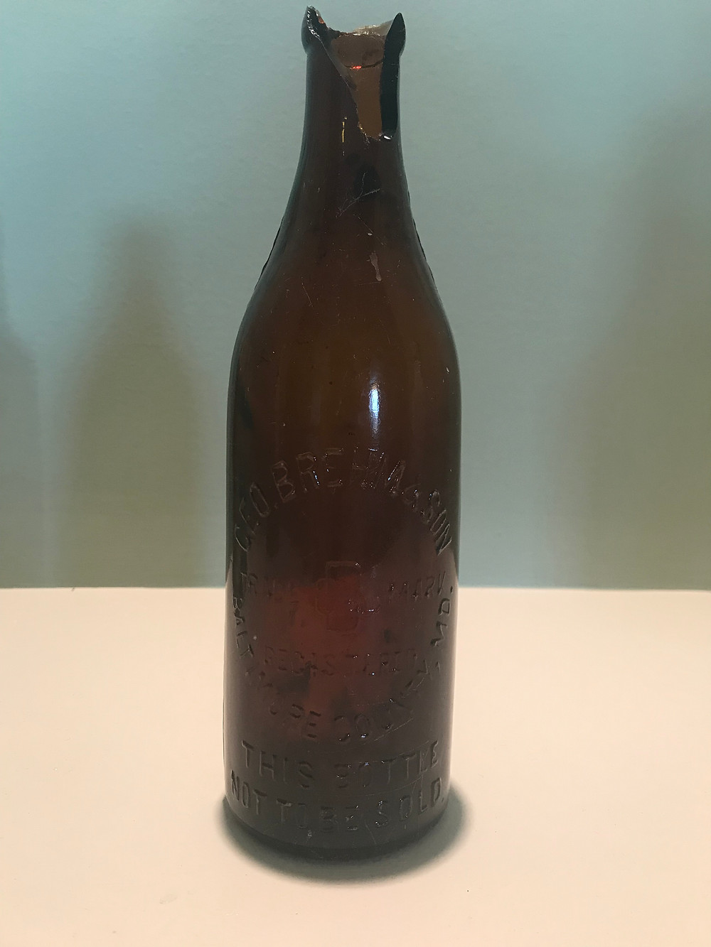 Geo. Brehm & Son Bottle