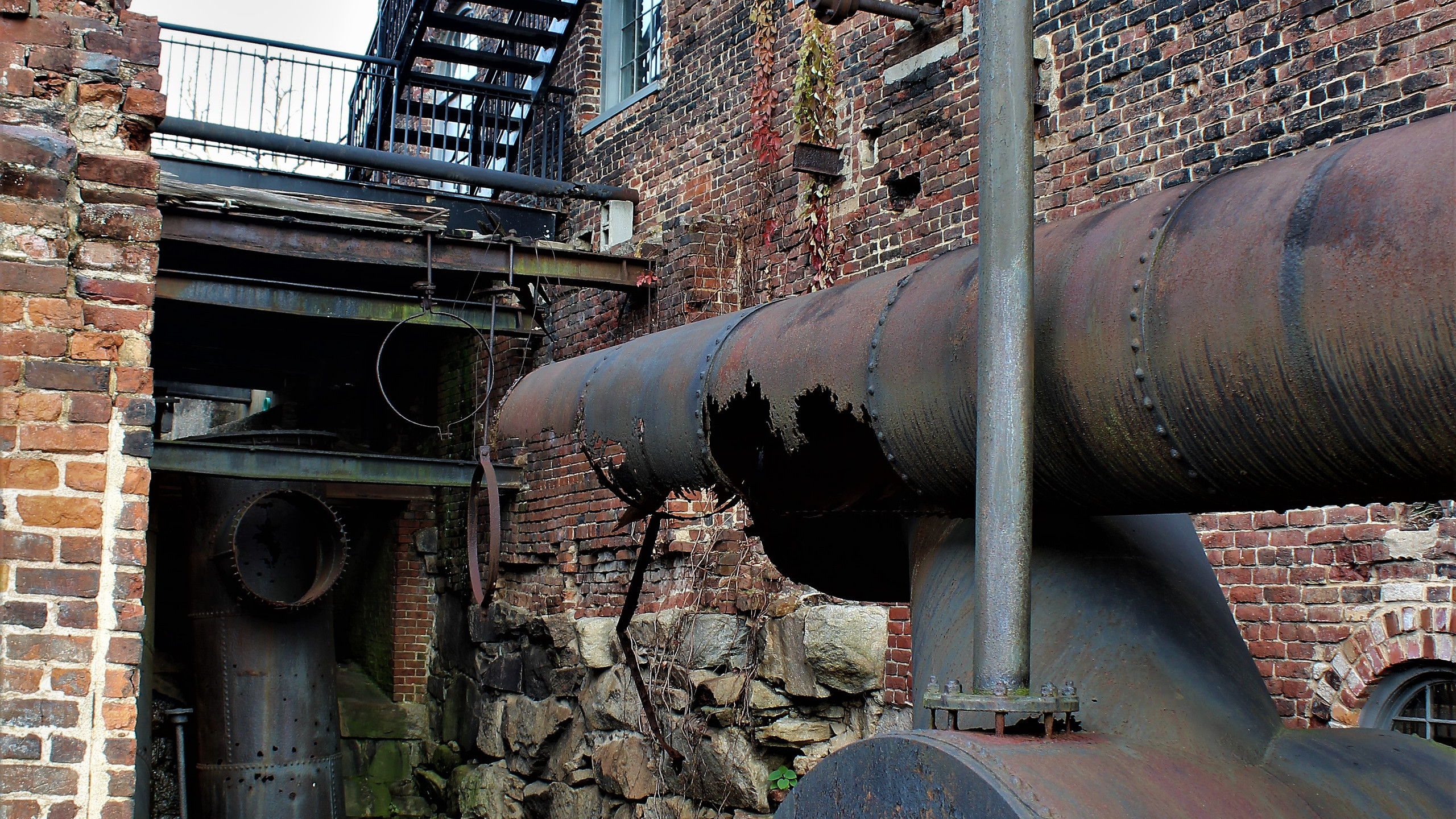 Some of the Old Mill Machinery