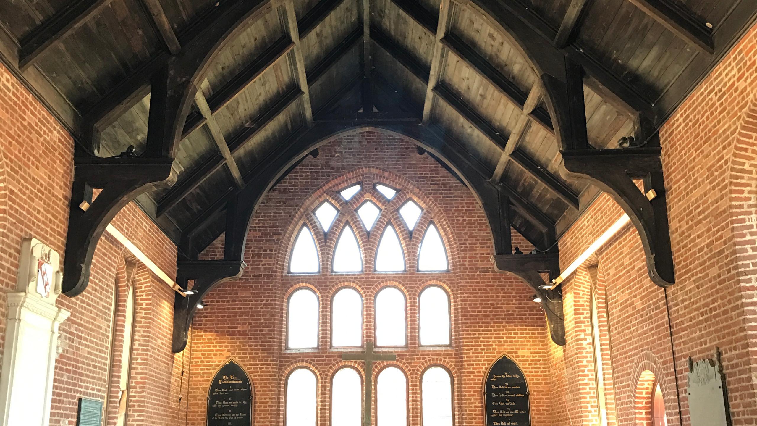 Inside the Memorial Church
