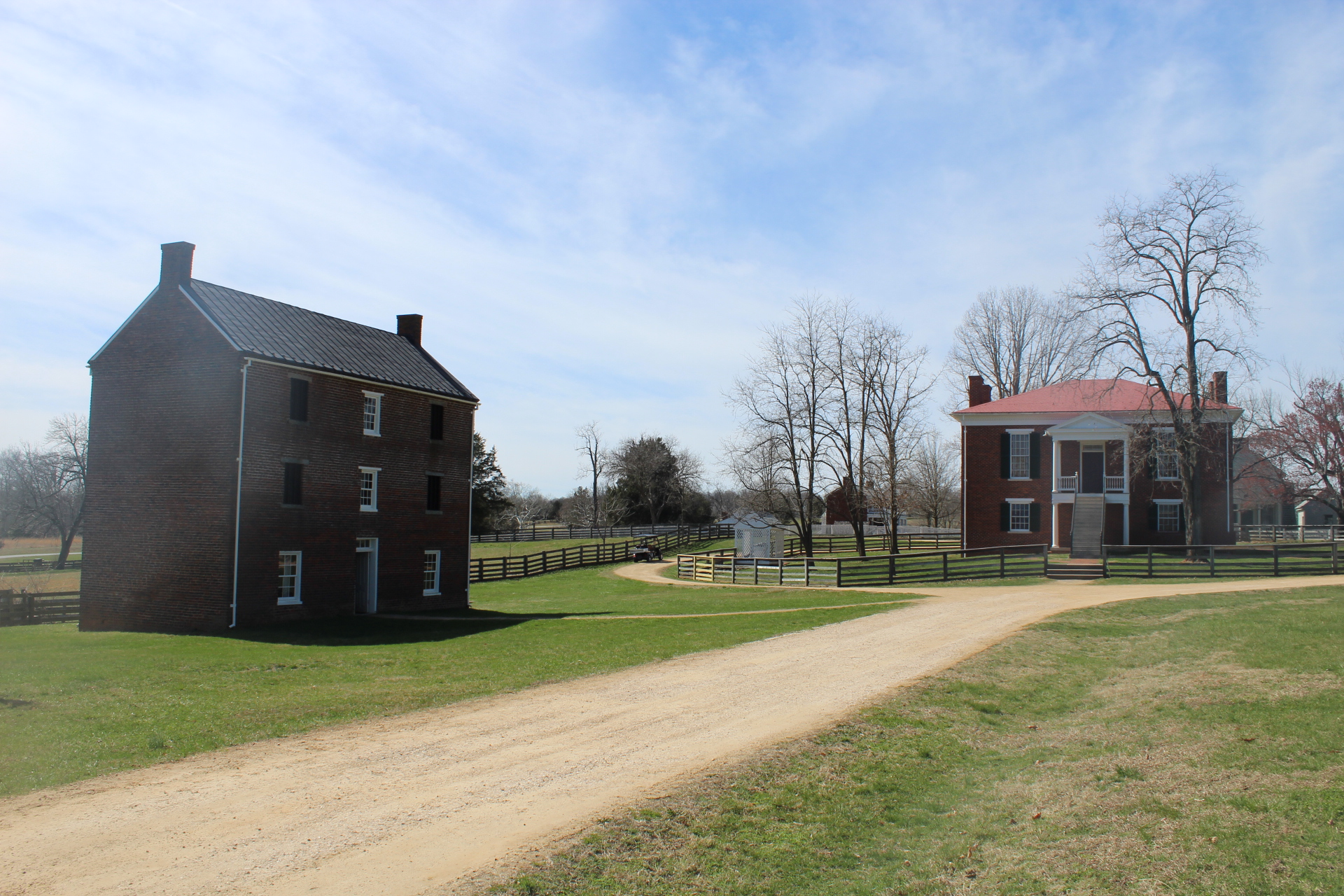 The Appomattox Jail and Court House