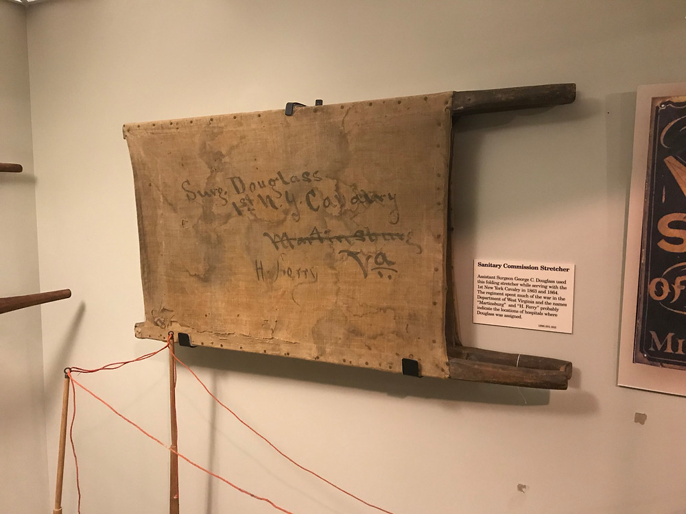 Sanitary Commission Stretcher