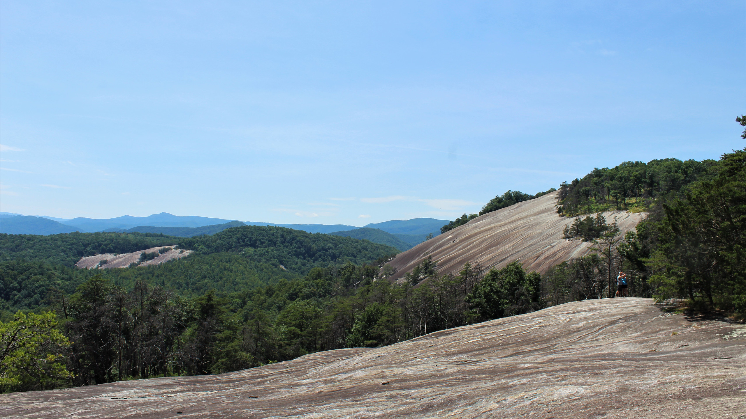 Stone Mountain from the Ascent