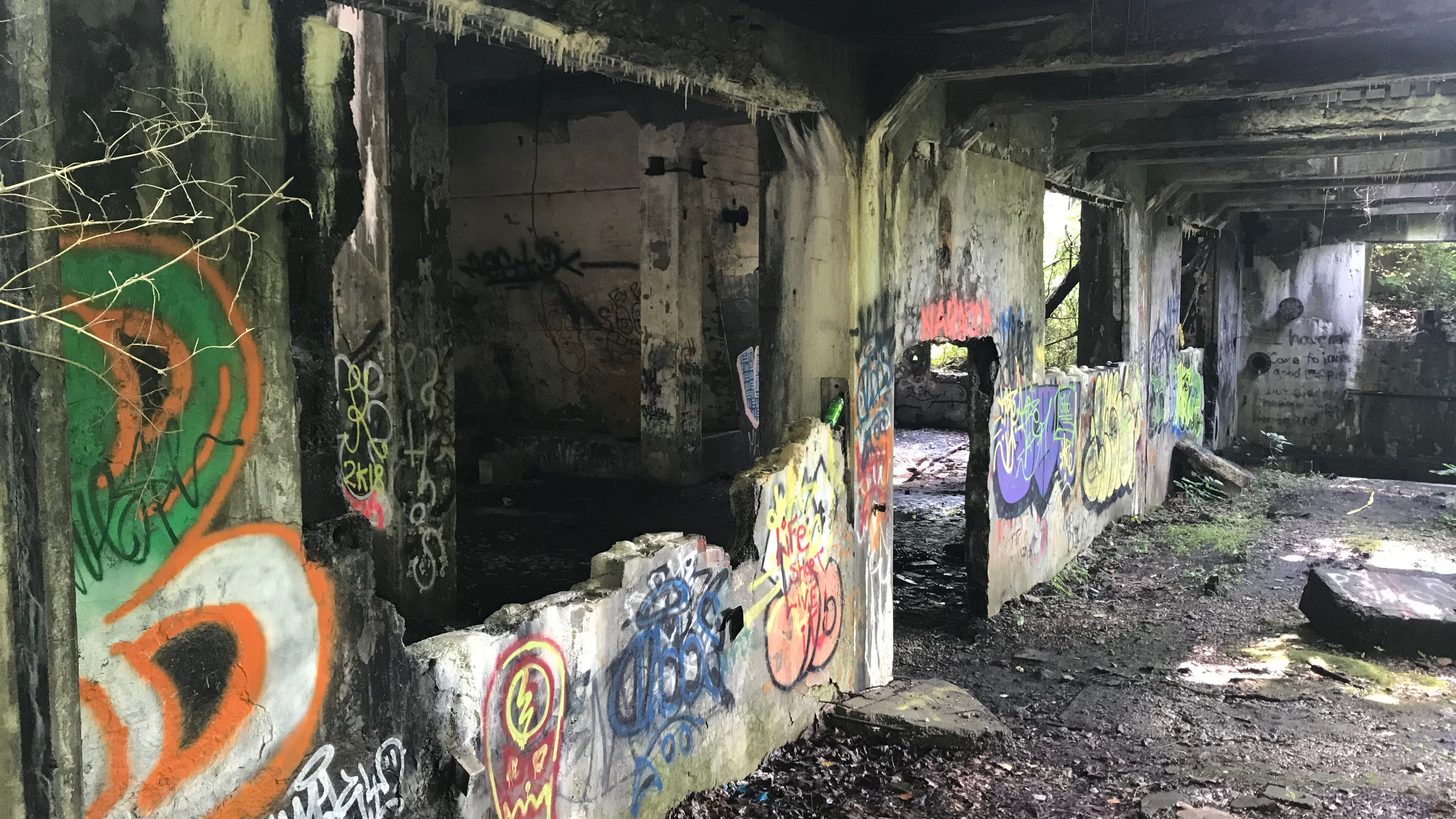 Inside the Abandoned Mine Buildings