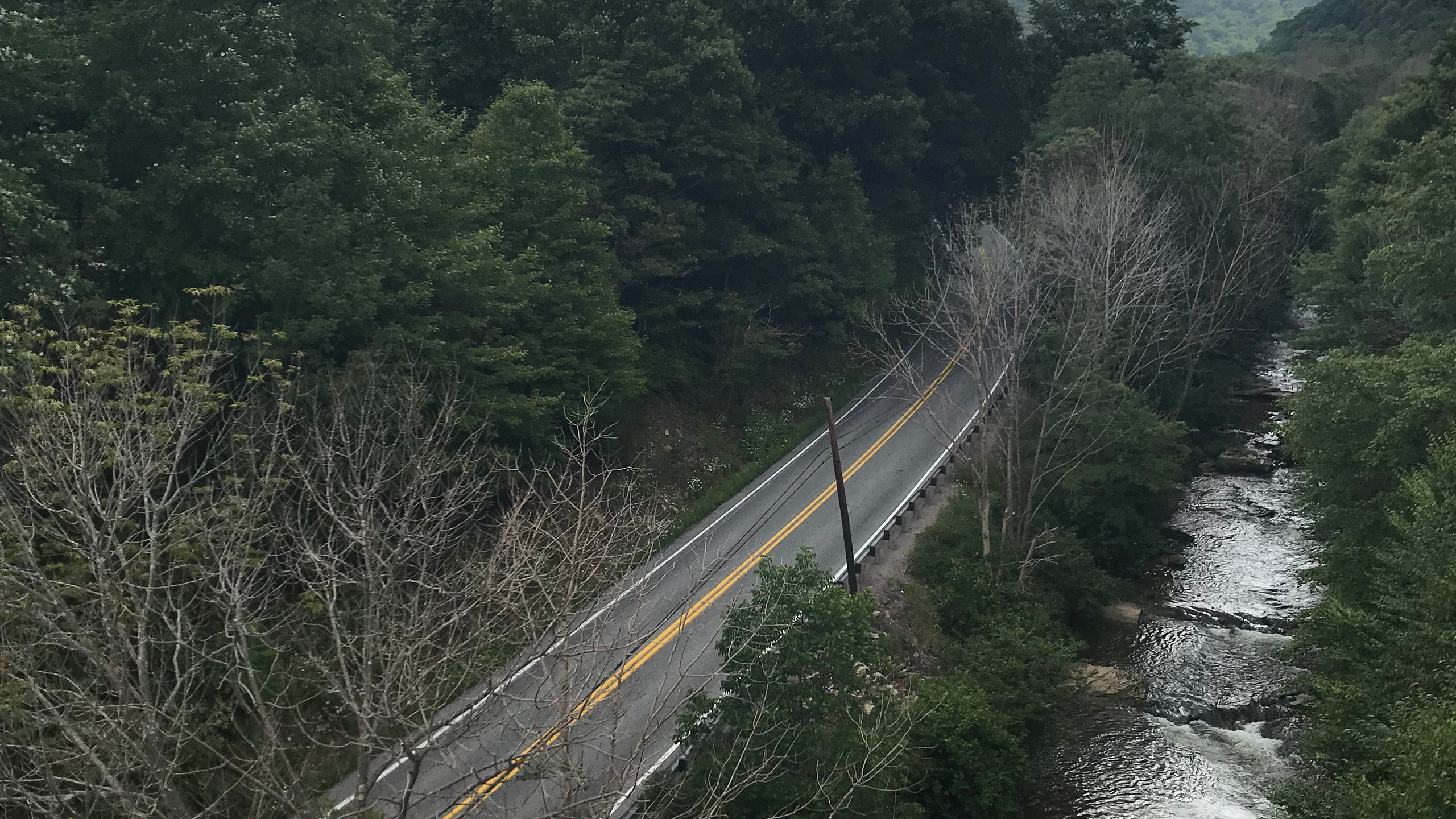 View from Keystone Viaduct
