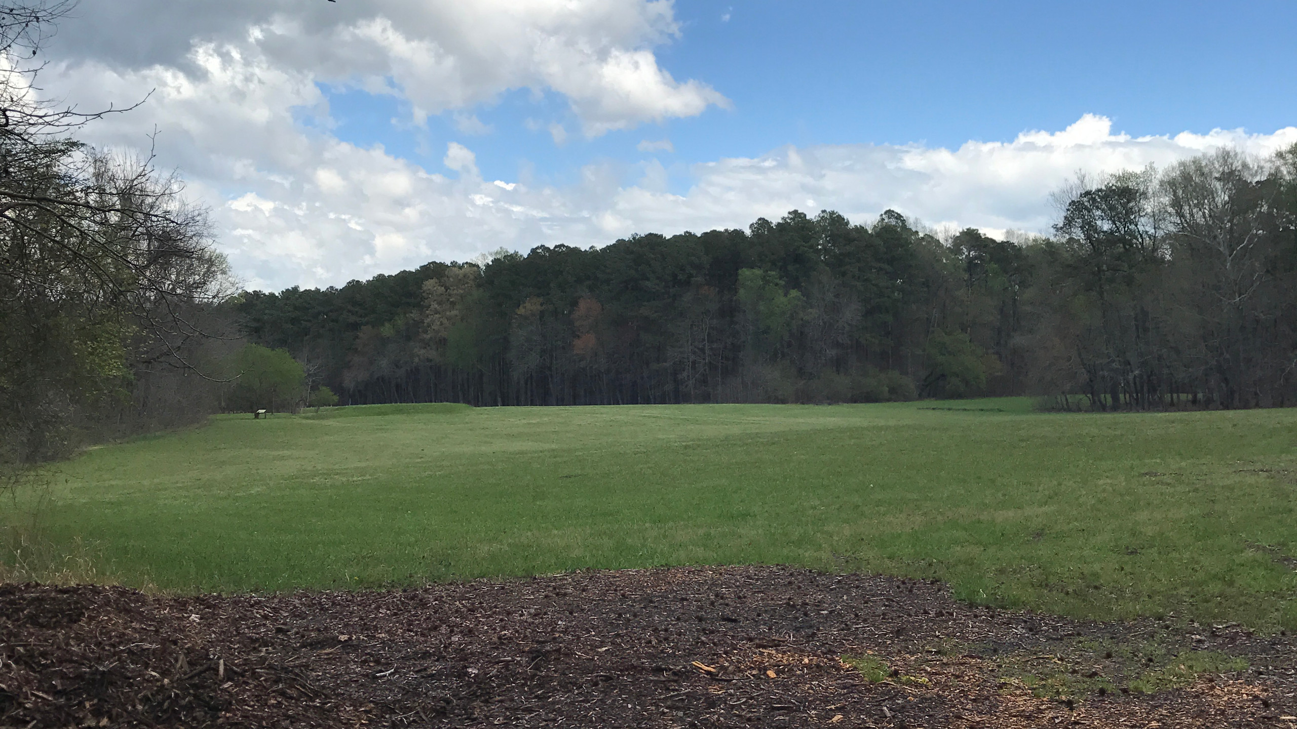 Site of Civil War Campgrounds