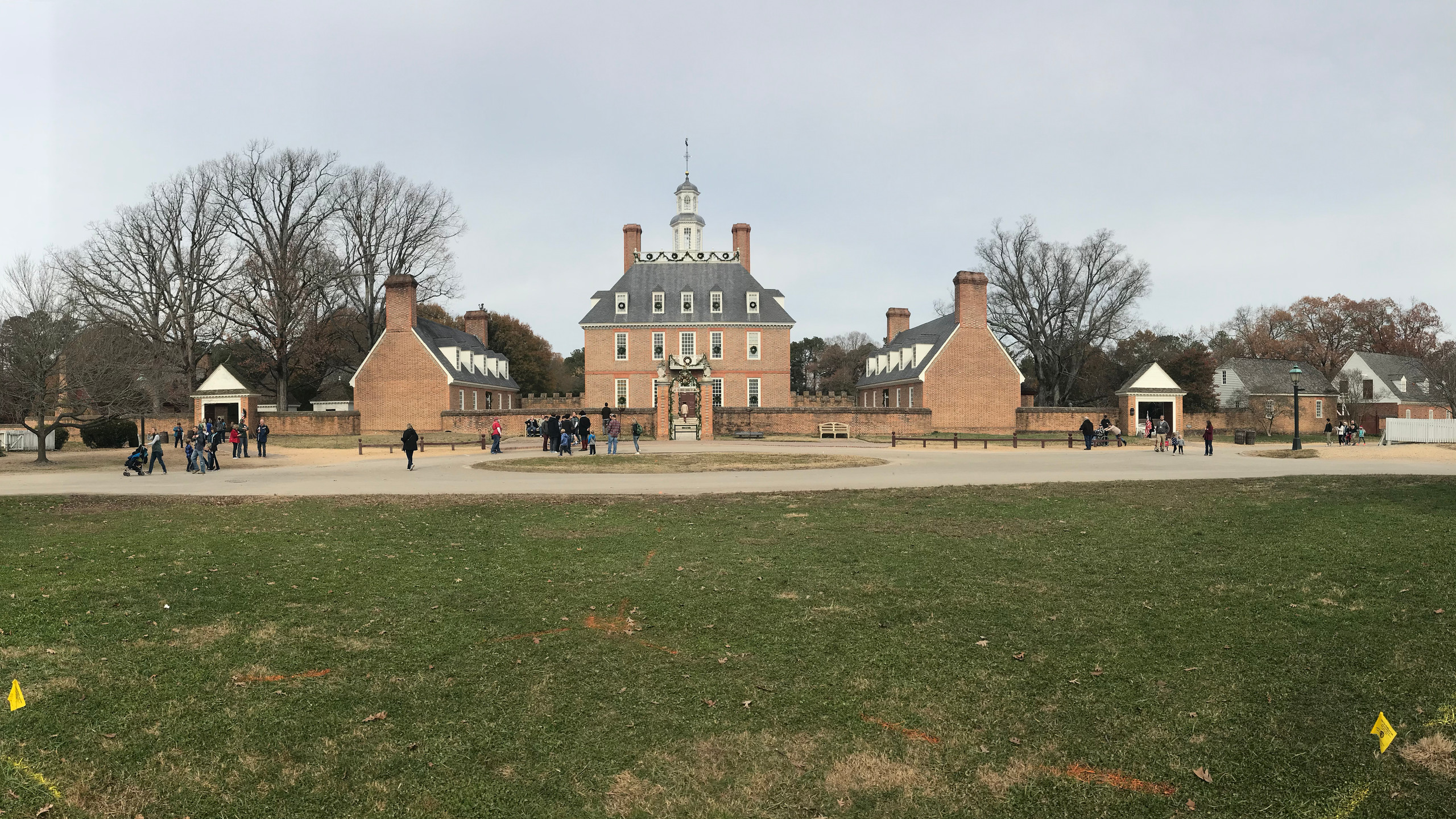 Panorama of the Governor's Palace