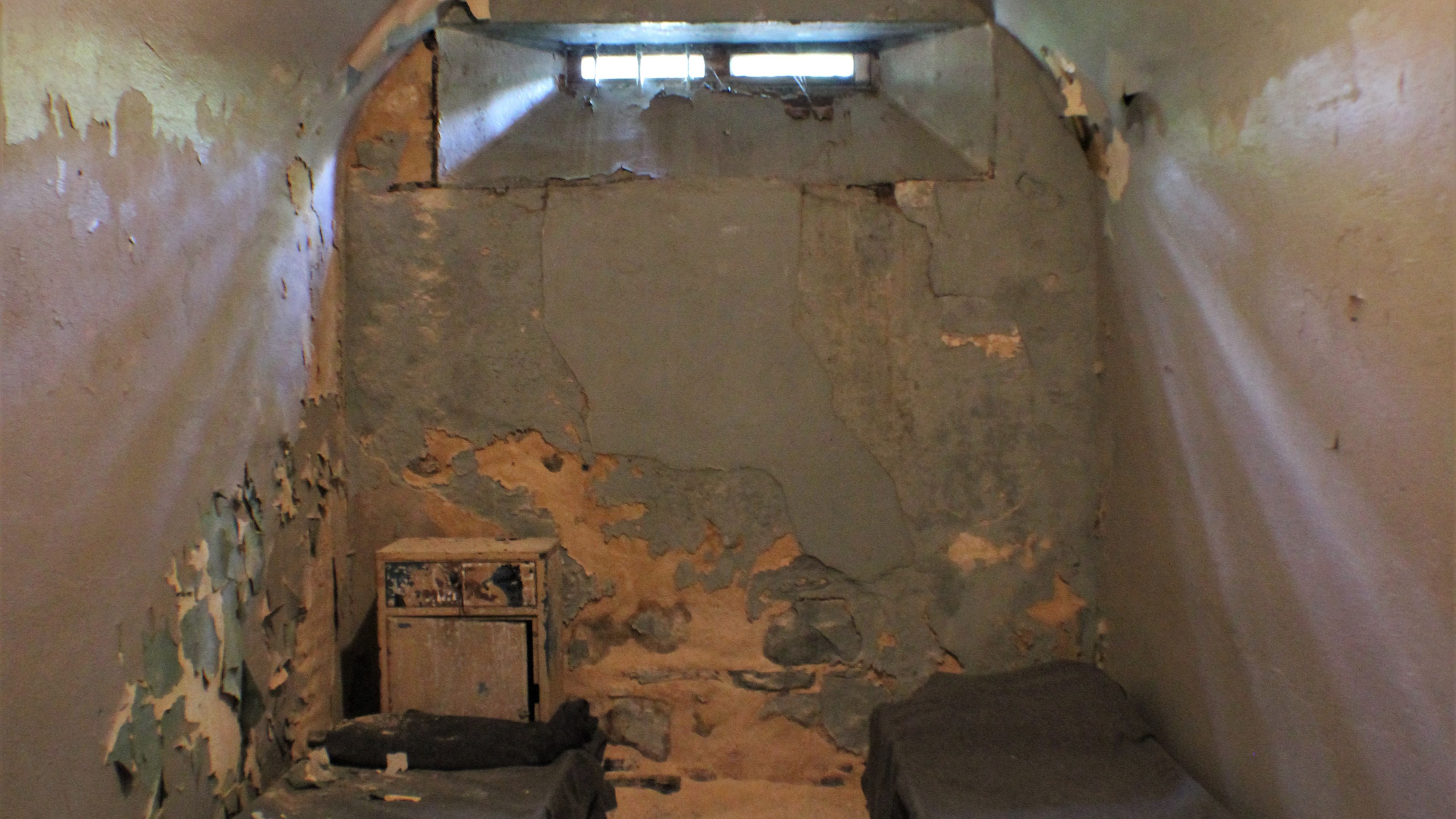 Cell inside the Old Jail