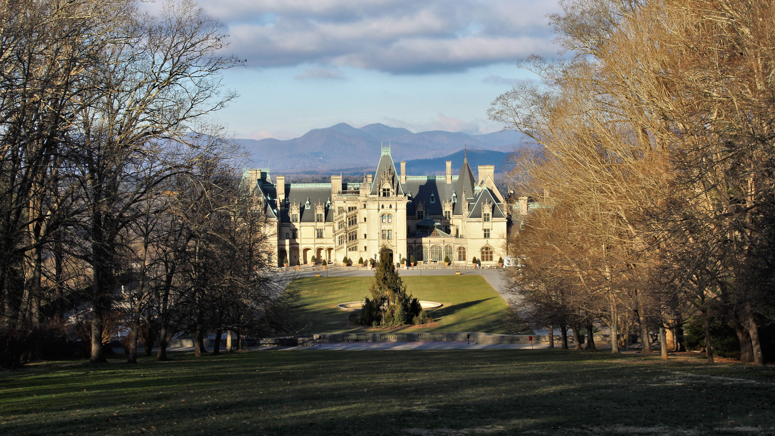 Downhill View of Biltmore