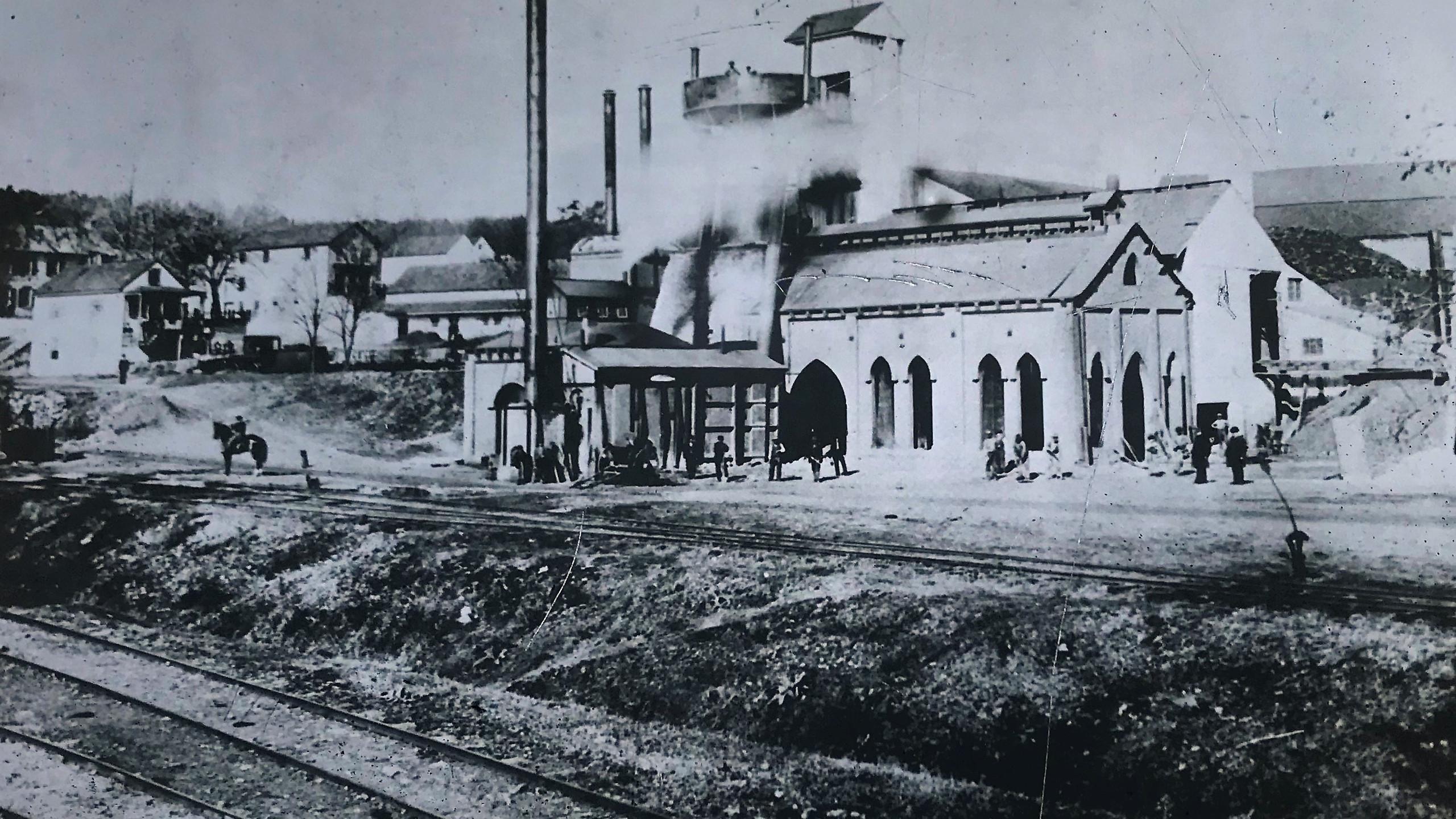 Pine Grove Furnace (late 1800s)