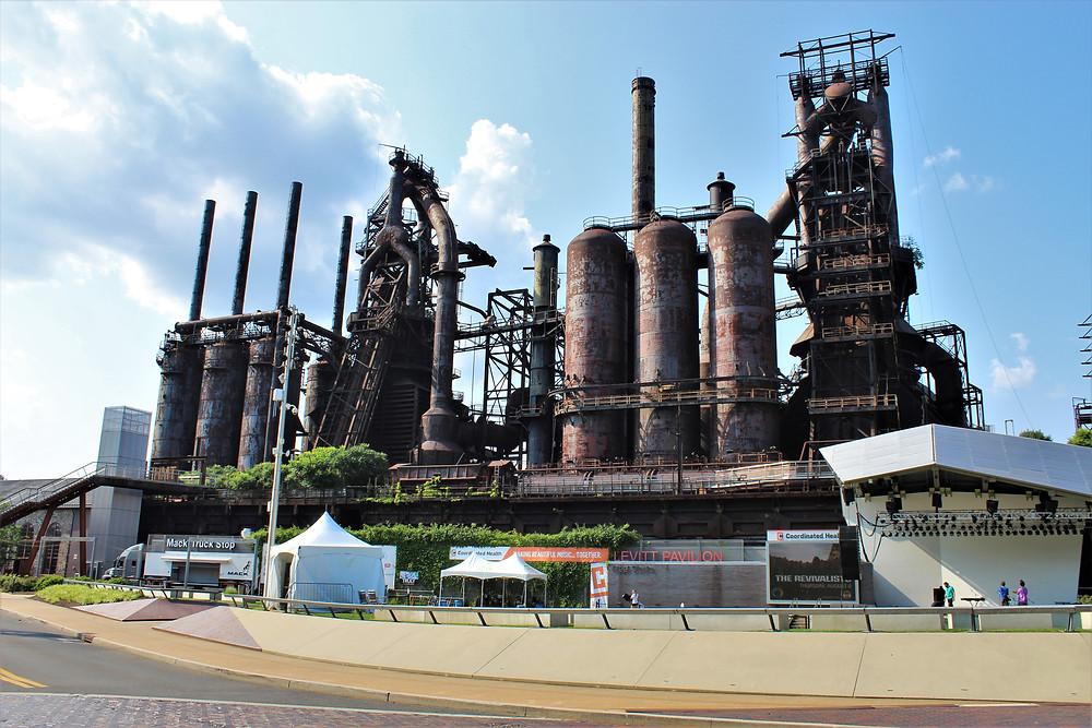 The Bethlehem Steel Plant