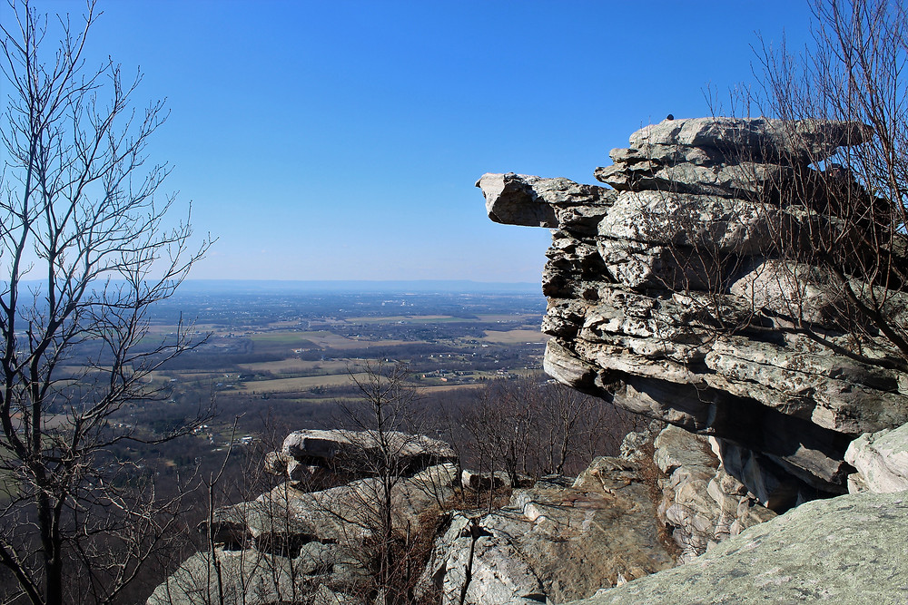 West View of Black Rock