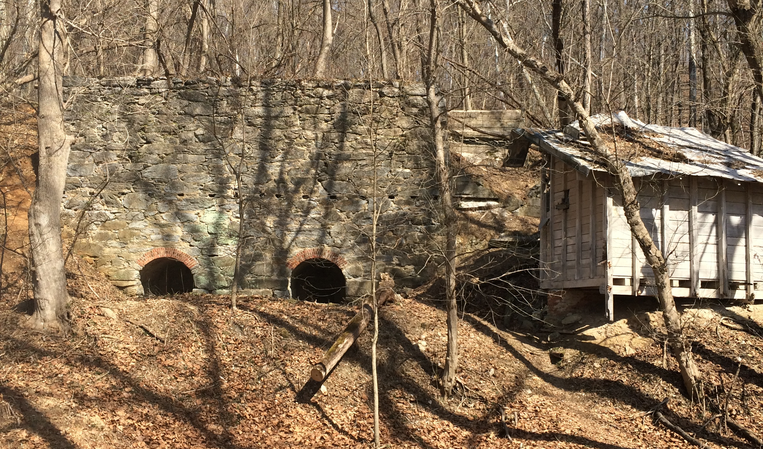 Abandoned Lime Kiln
