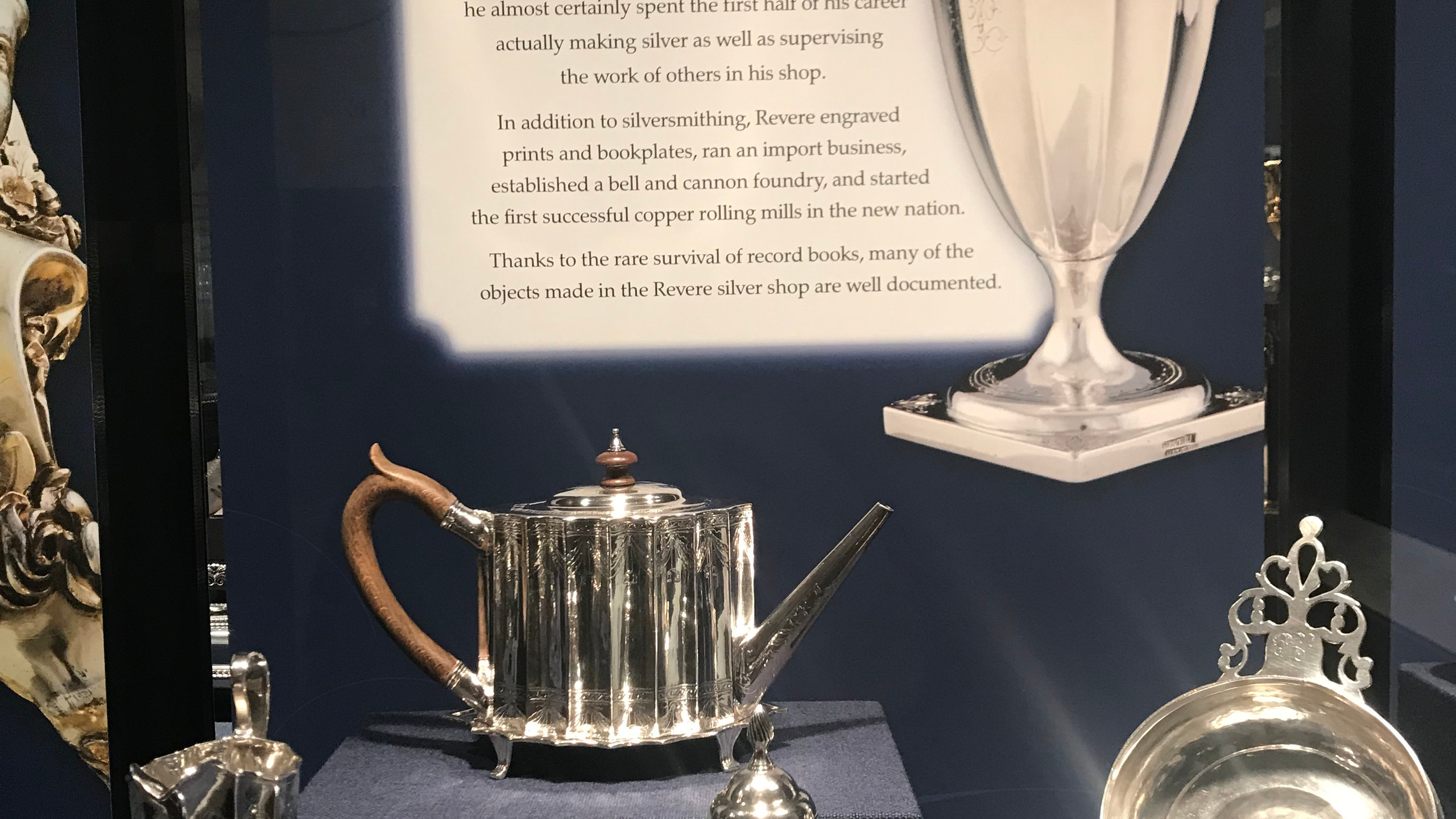 Silver Crafted by Paul Revere