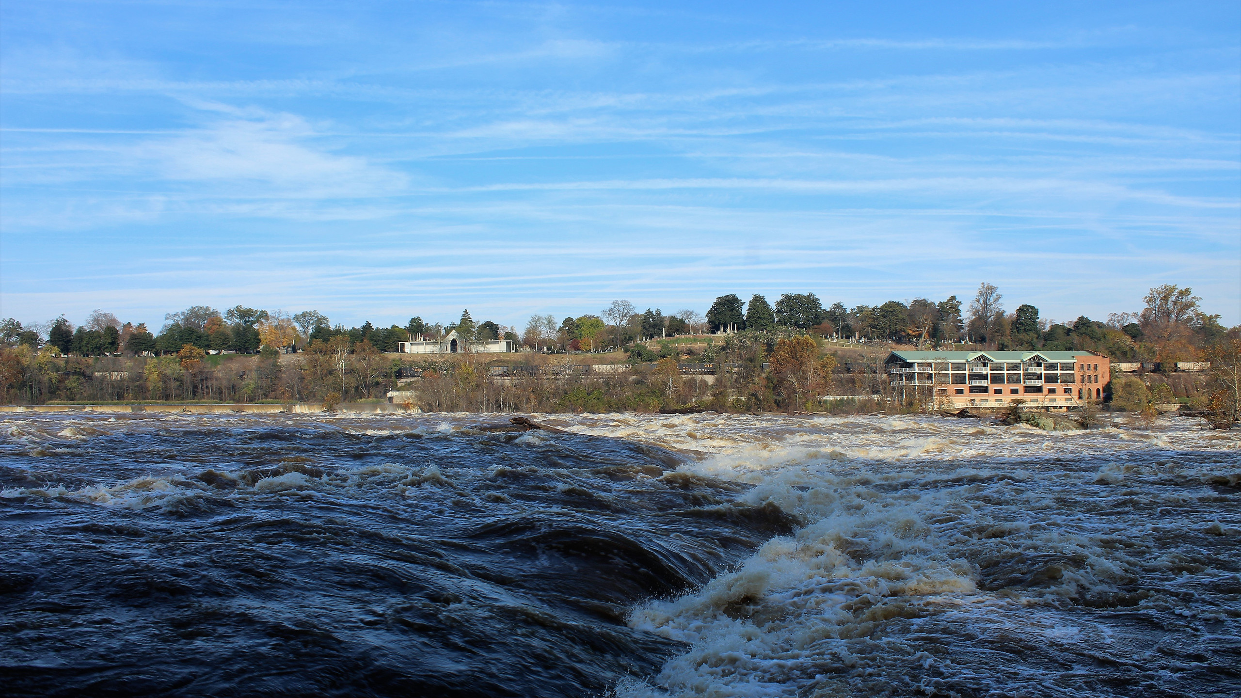 Class IV Rapids of the James River
