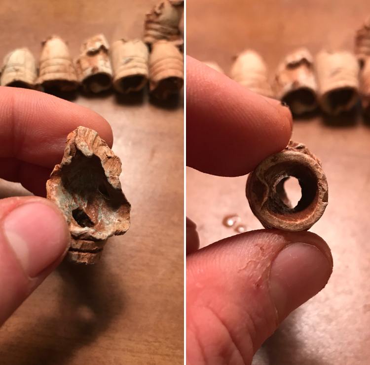 "A ""Blown-Through"" Bullet"