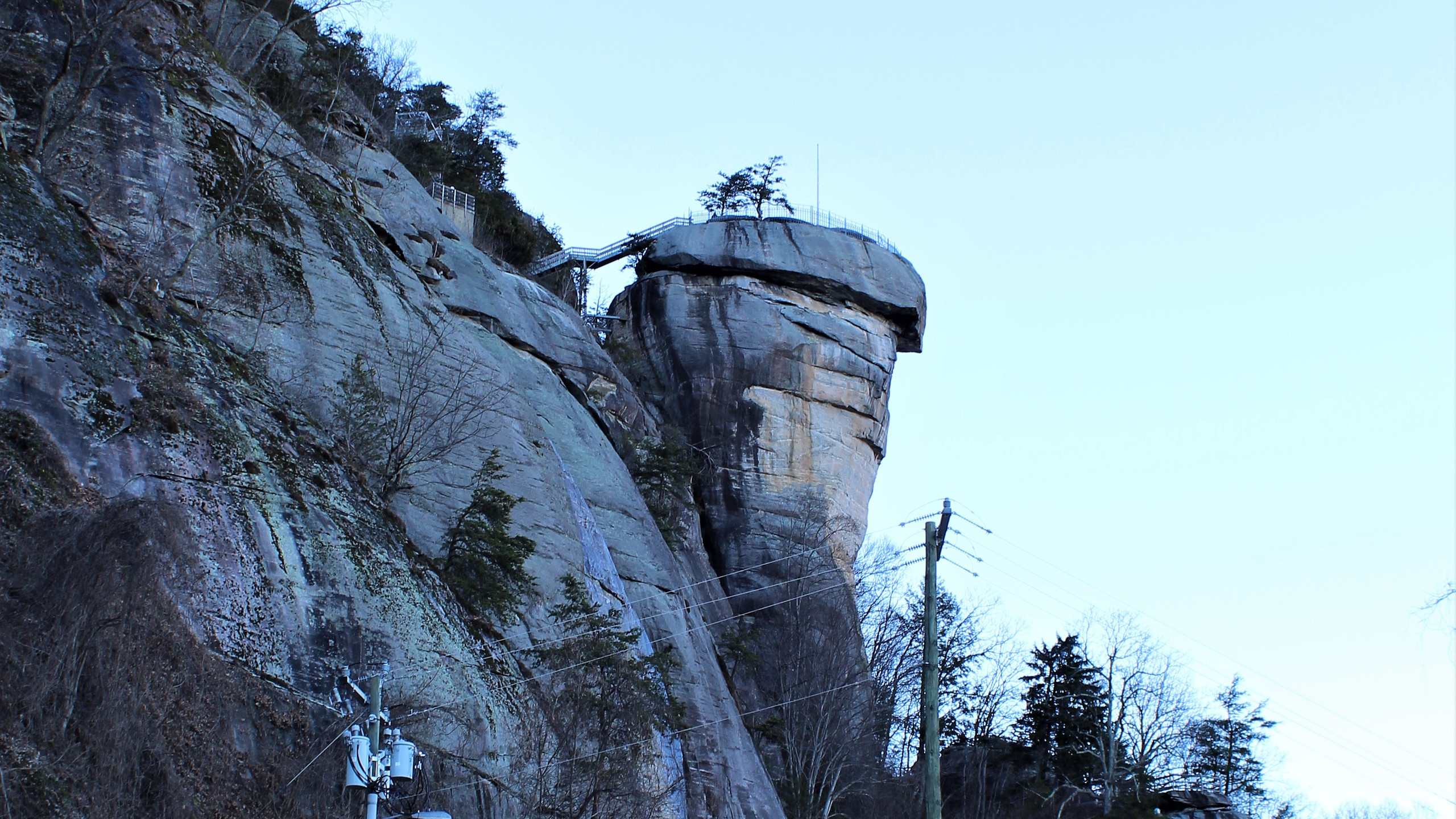 Chimney Rock from the Parking Lot