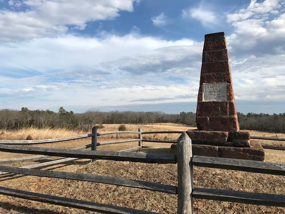 Groveton Monument