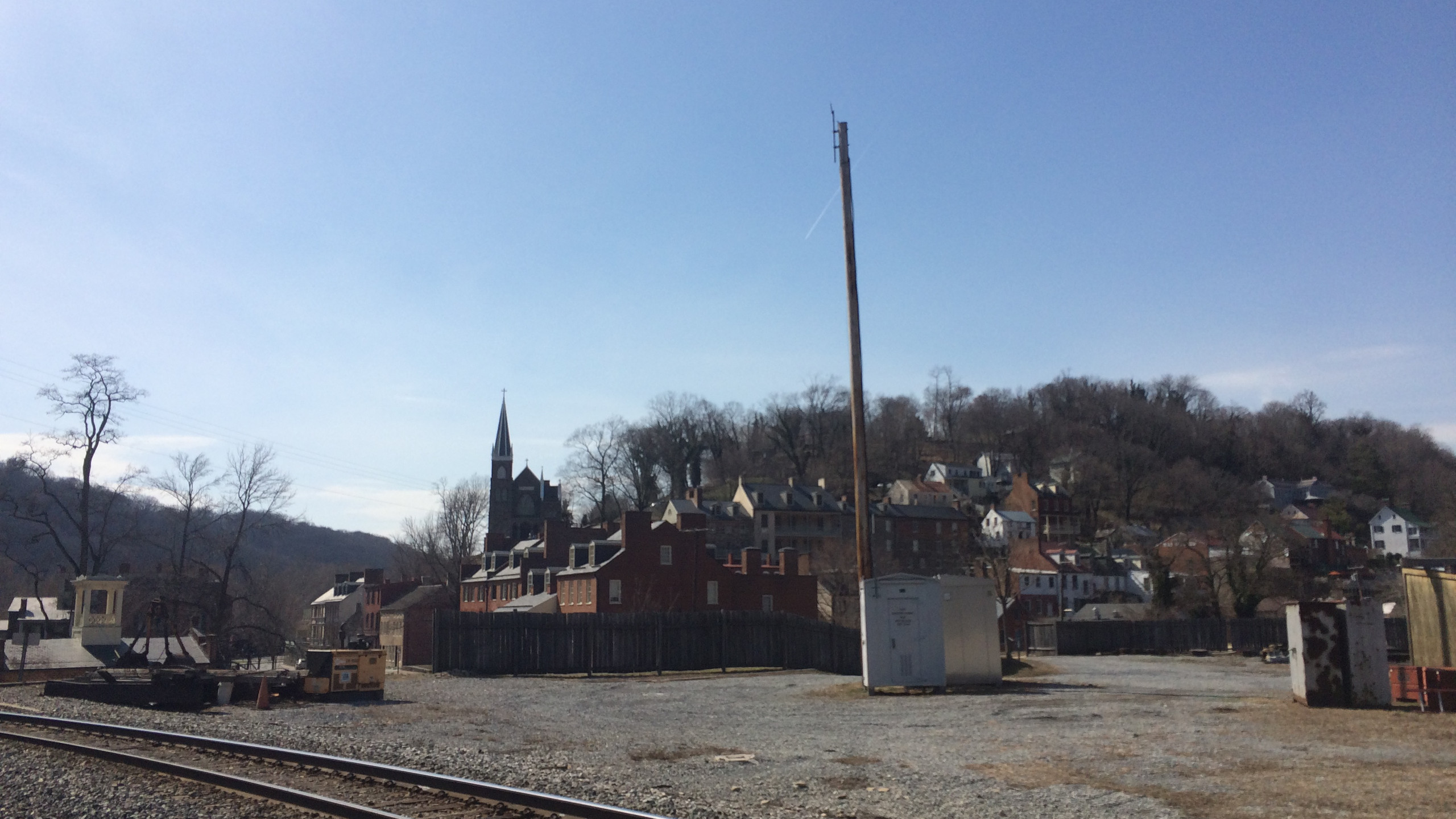 Harpers Ferry from the RR Tracks