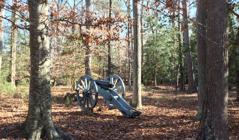 Lone Cannon near the Artillery Park