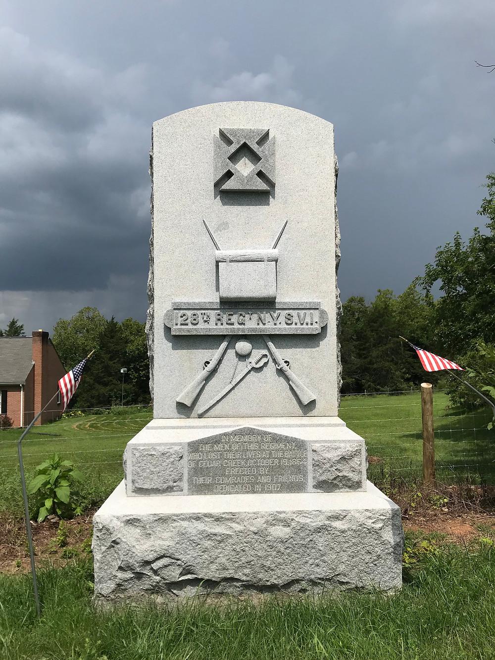 128th NY Monument