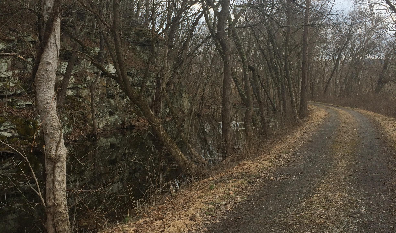Stonework along the Trail