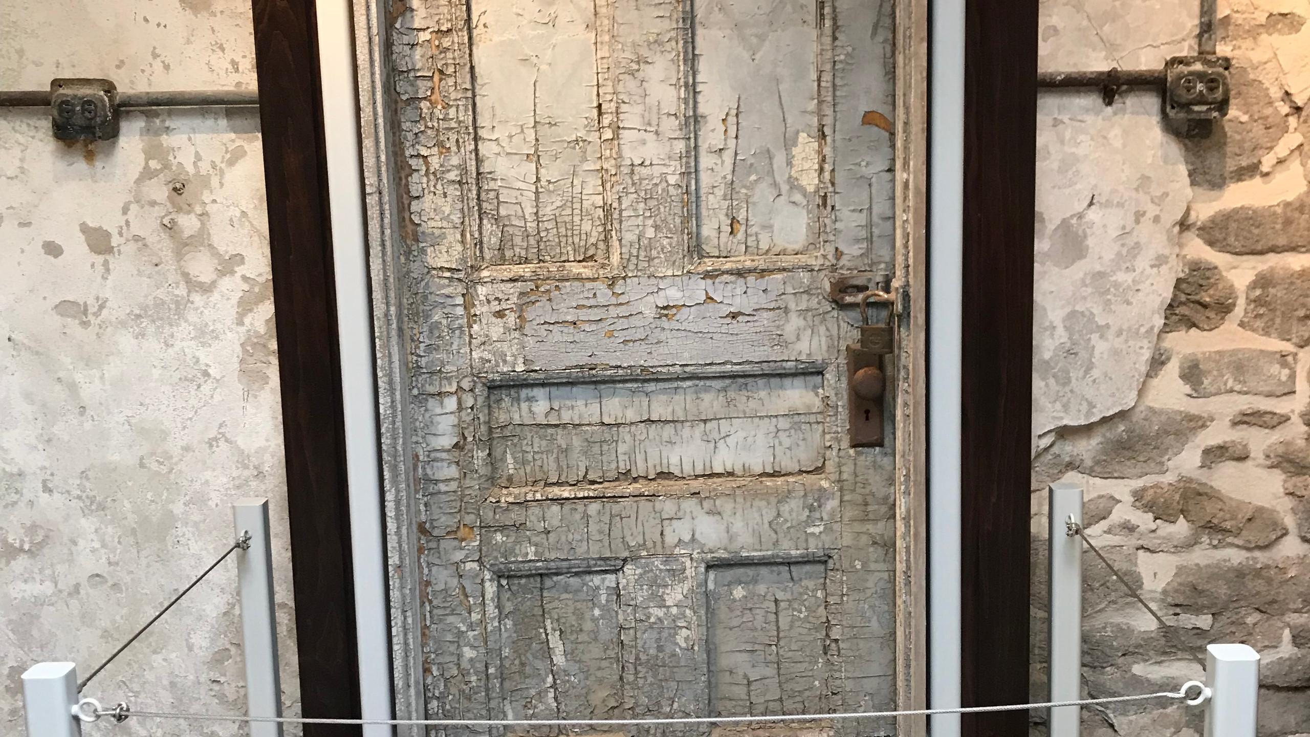 Original Synagogue Door