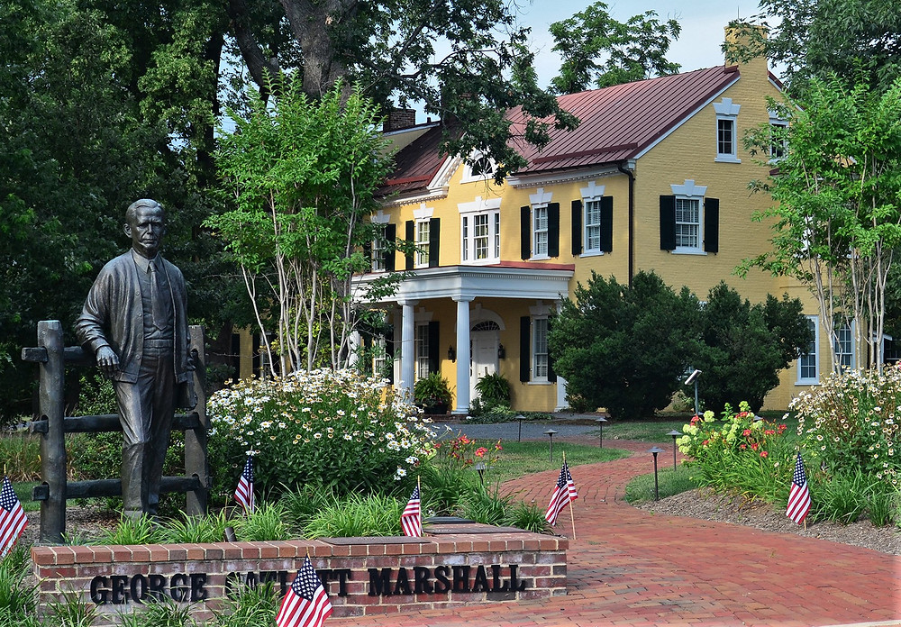 The George C. Marshall House (courtesy of Virginia.org)