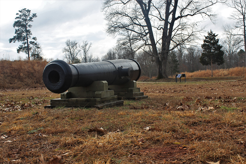 Cannon Placement at Fort Harrison
