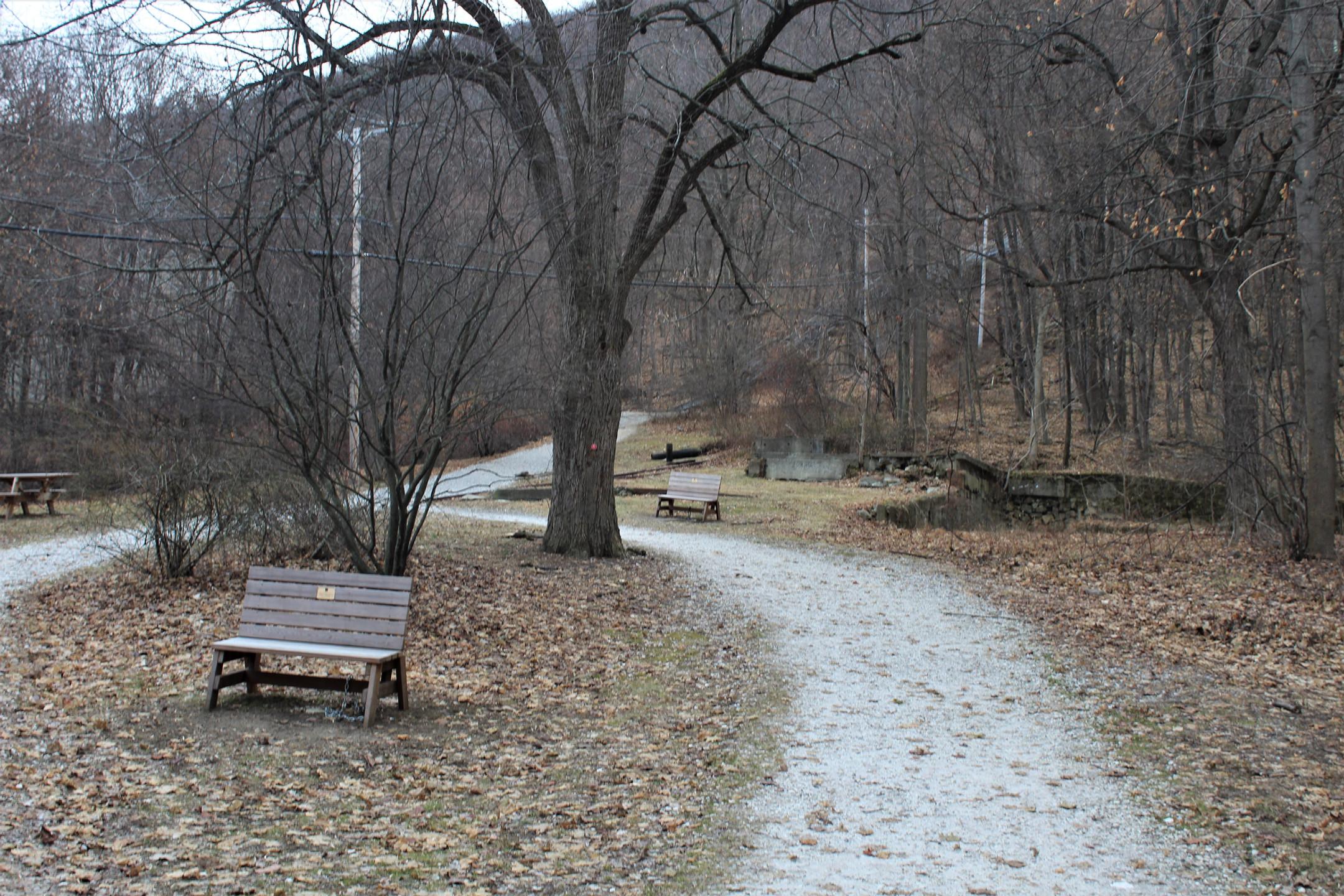 Trail head for Casino Trail
