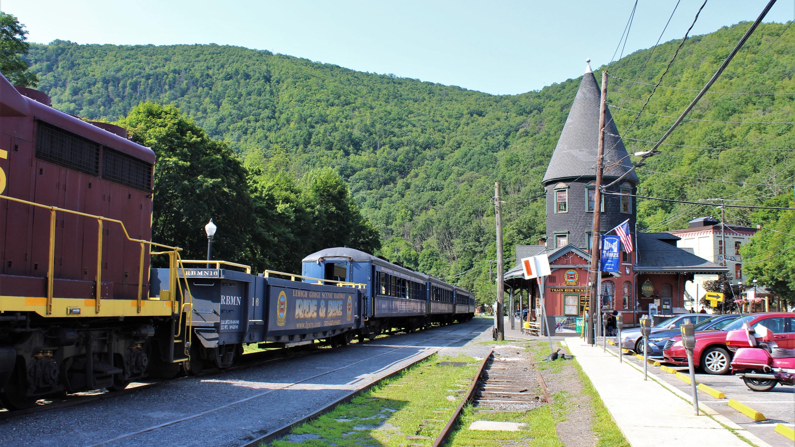 Lehigh Gorge Scenic Railroad