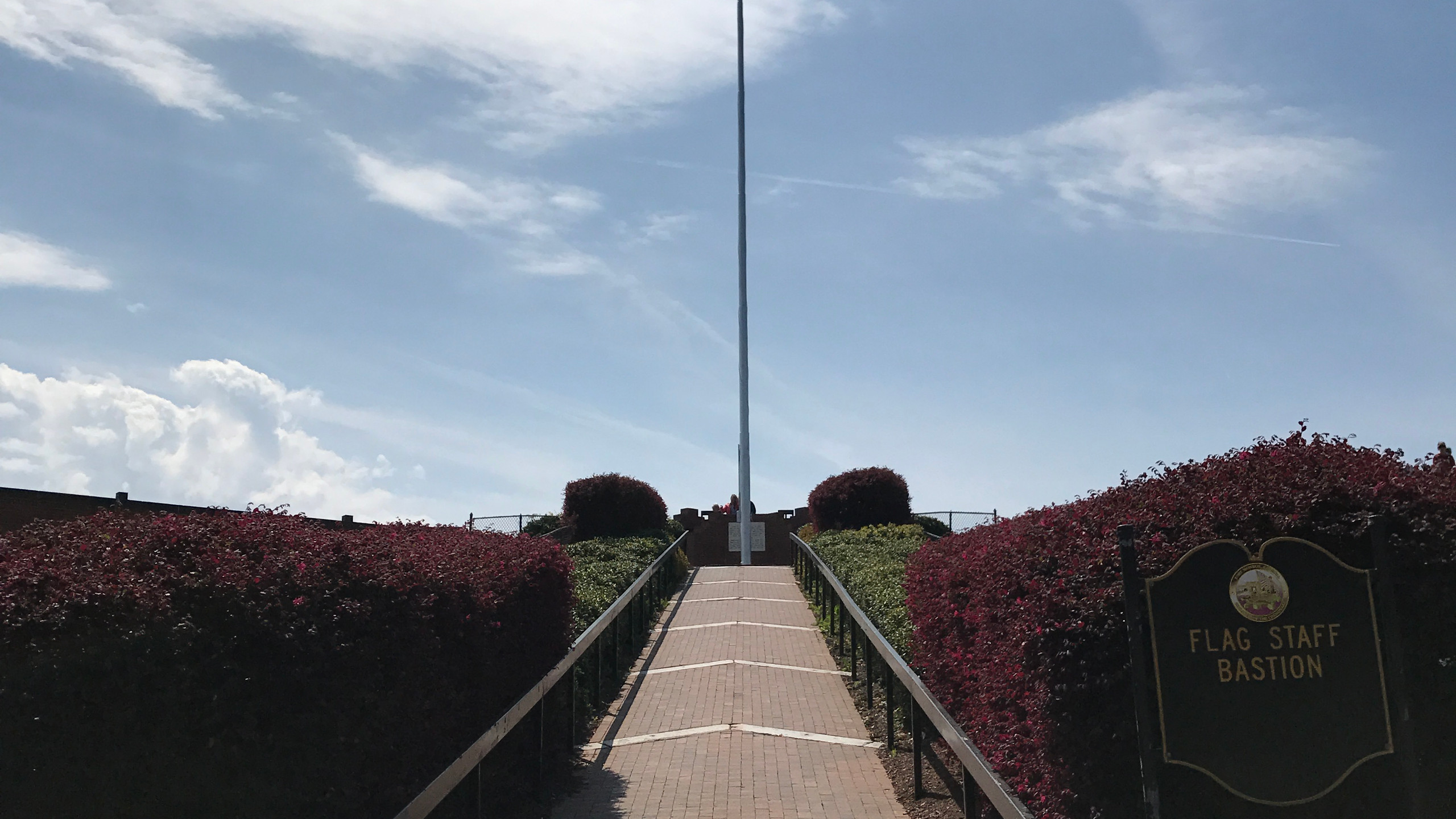 Flag Staff Bastion