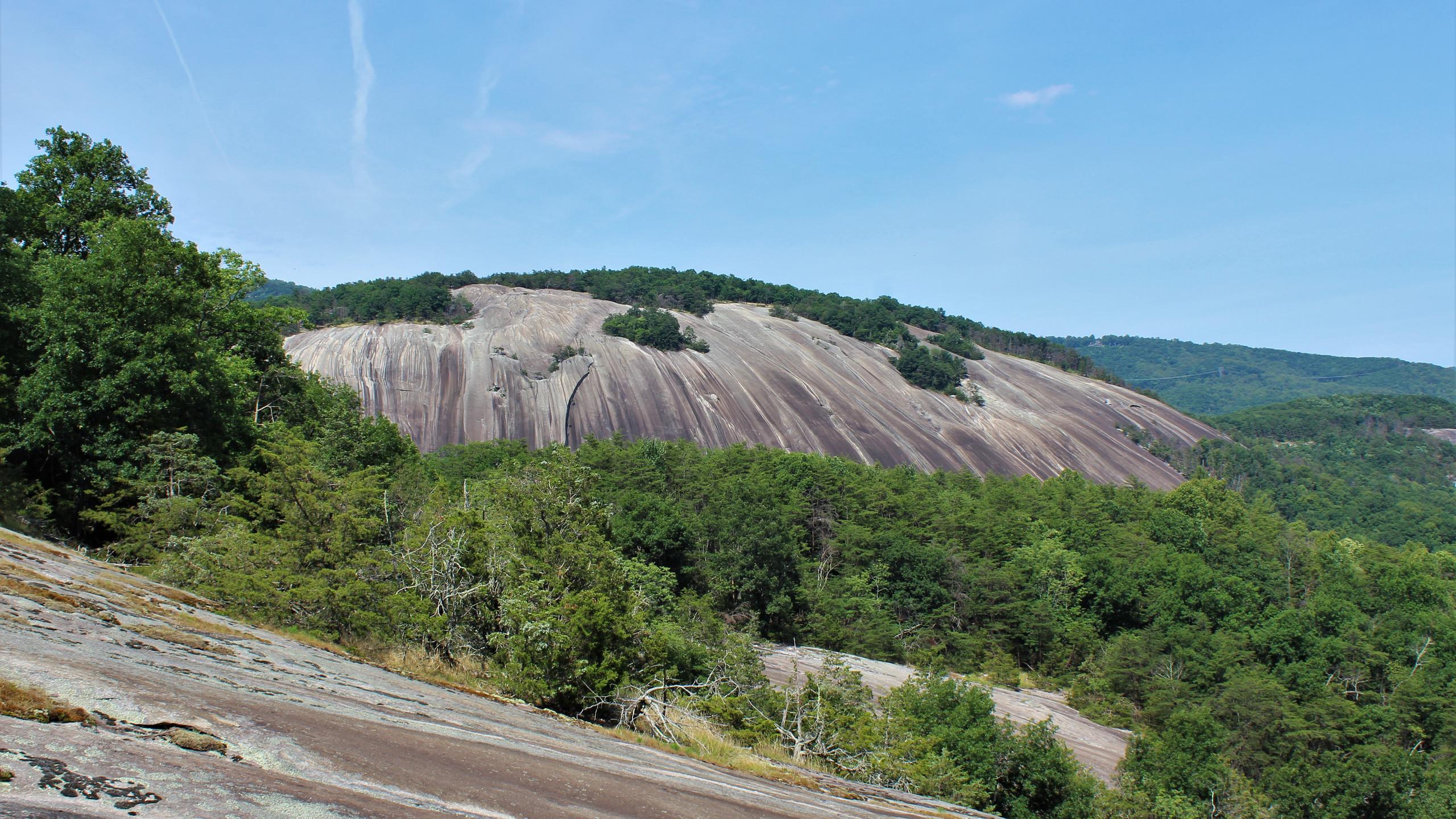 Stone Mountain from Cedar Rock