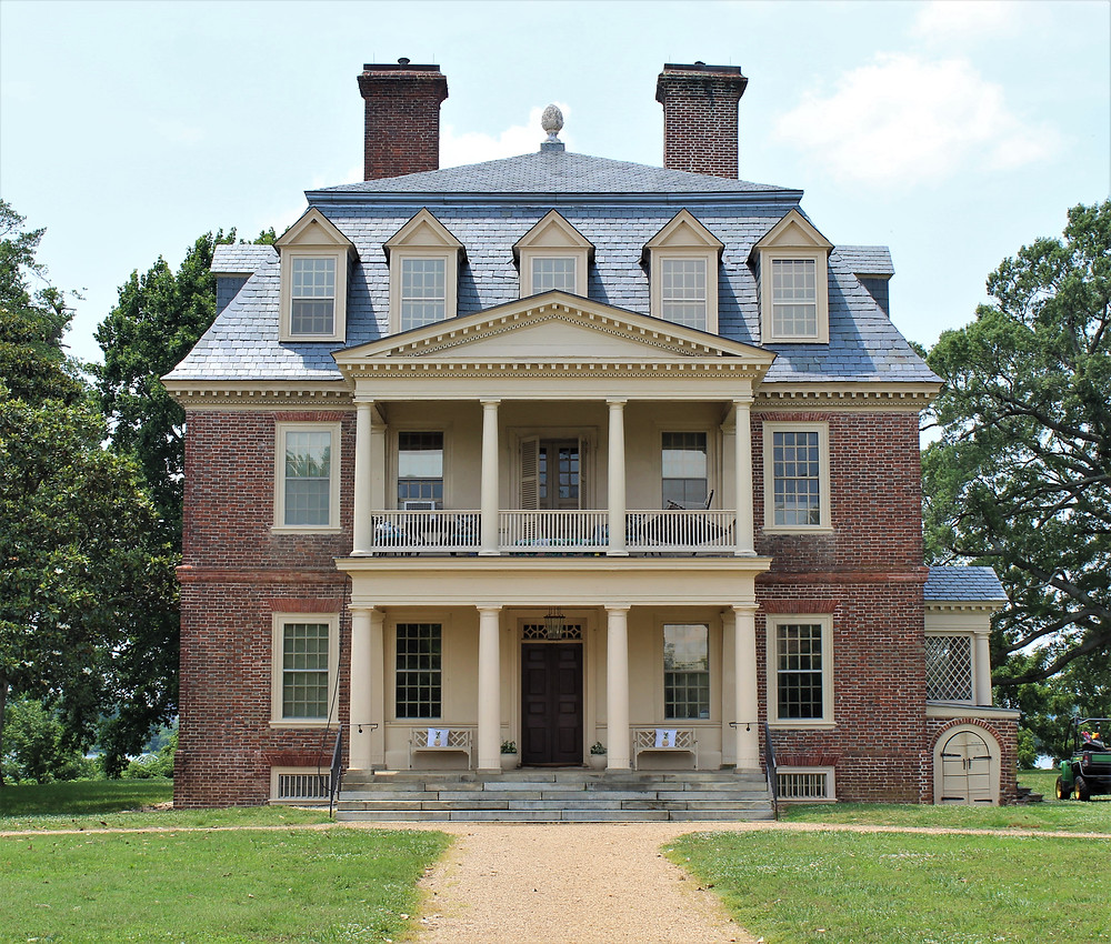 Shirley Plantation's Great House