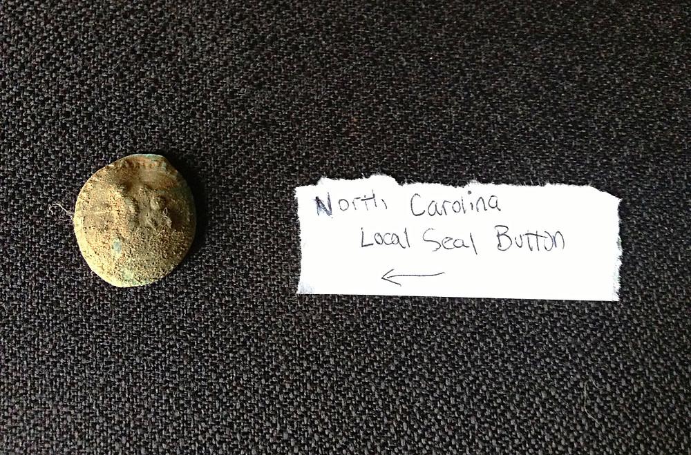 North Carolina Local Seal Button