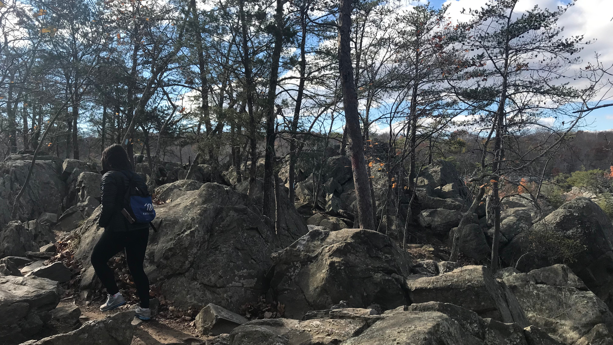 Easier Part of the Billy Goat Trail