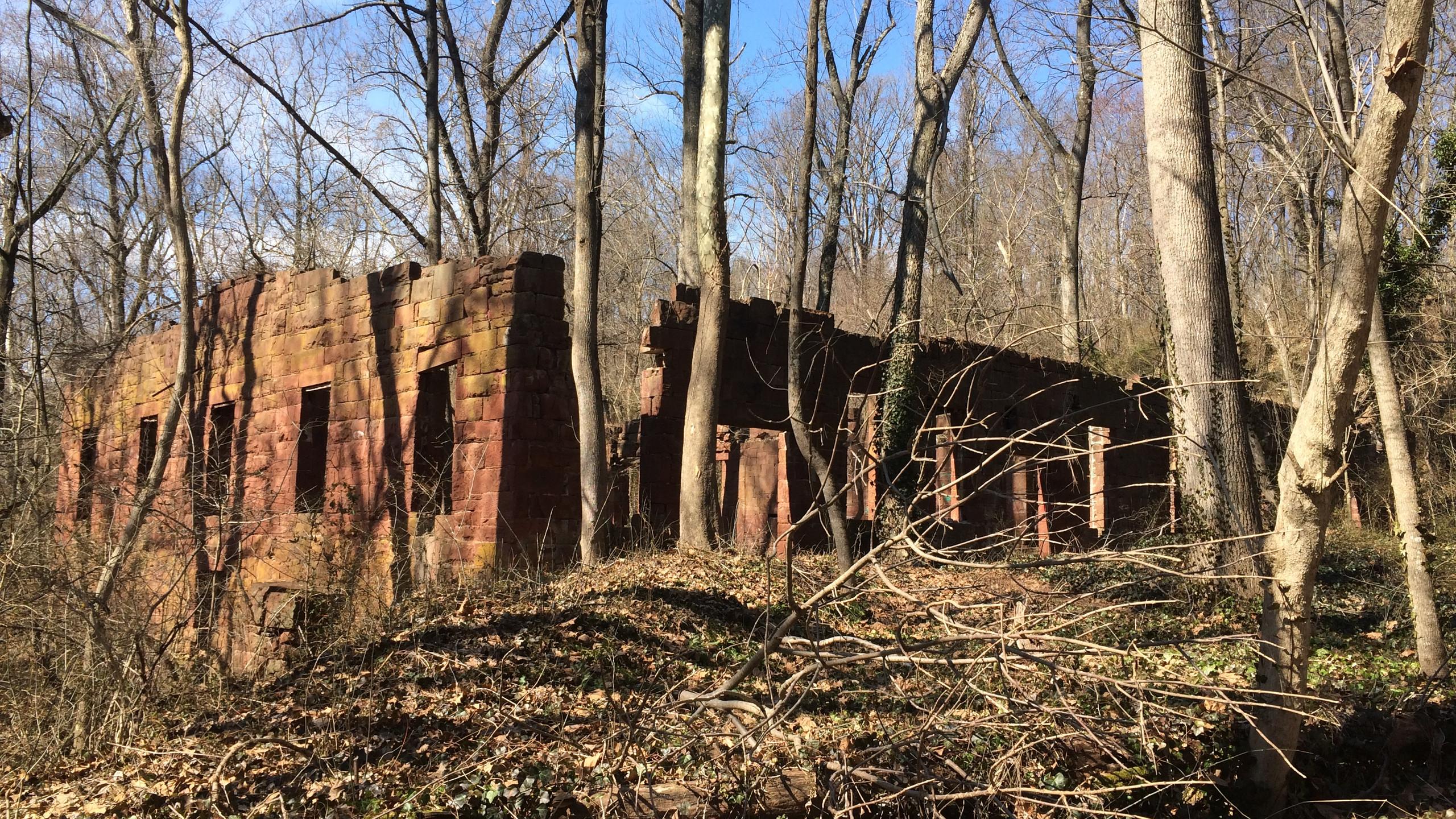 Warehouse Ruins near Seneca
