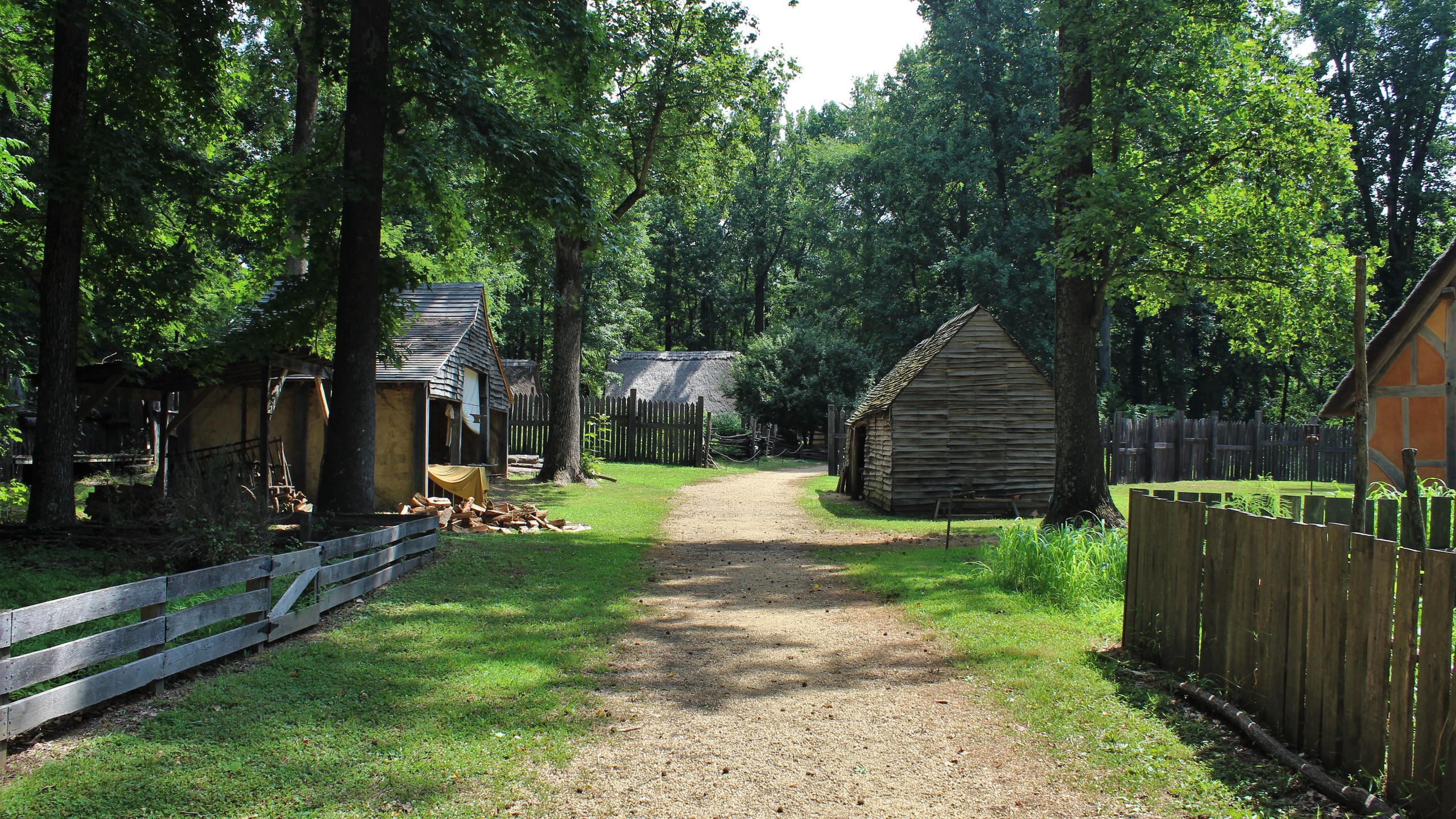 Blacksmith and Tradesman Area