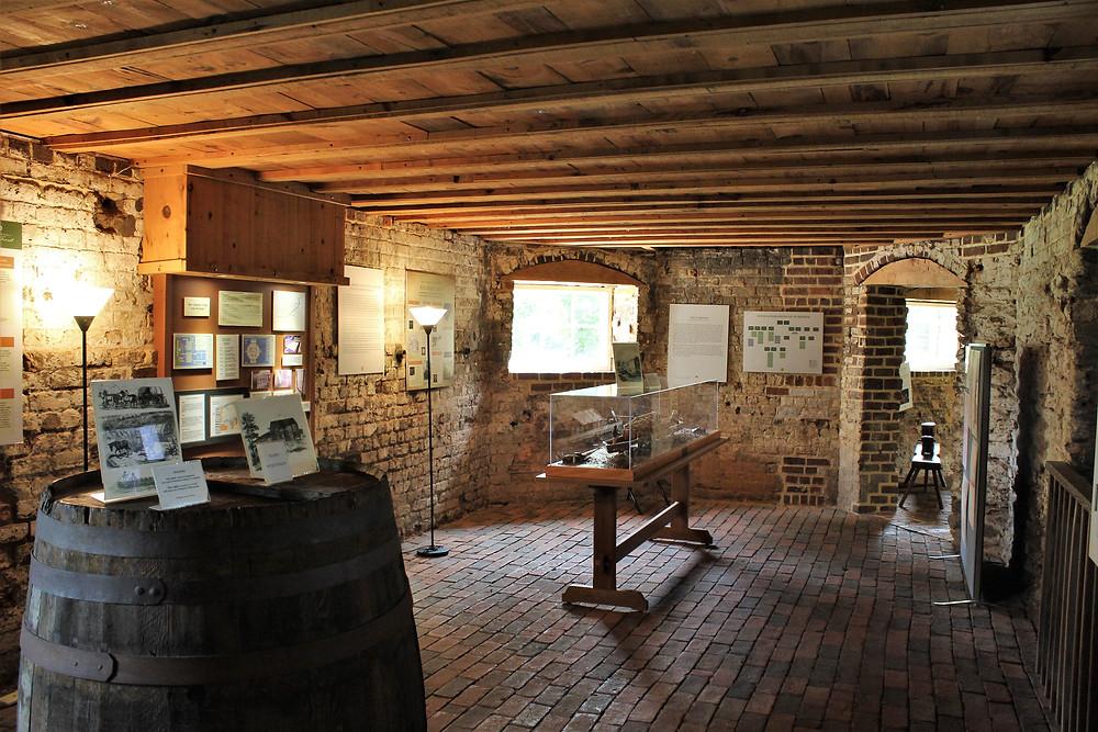 Lower Level Museum Exhibits