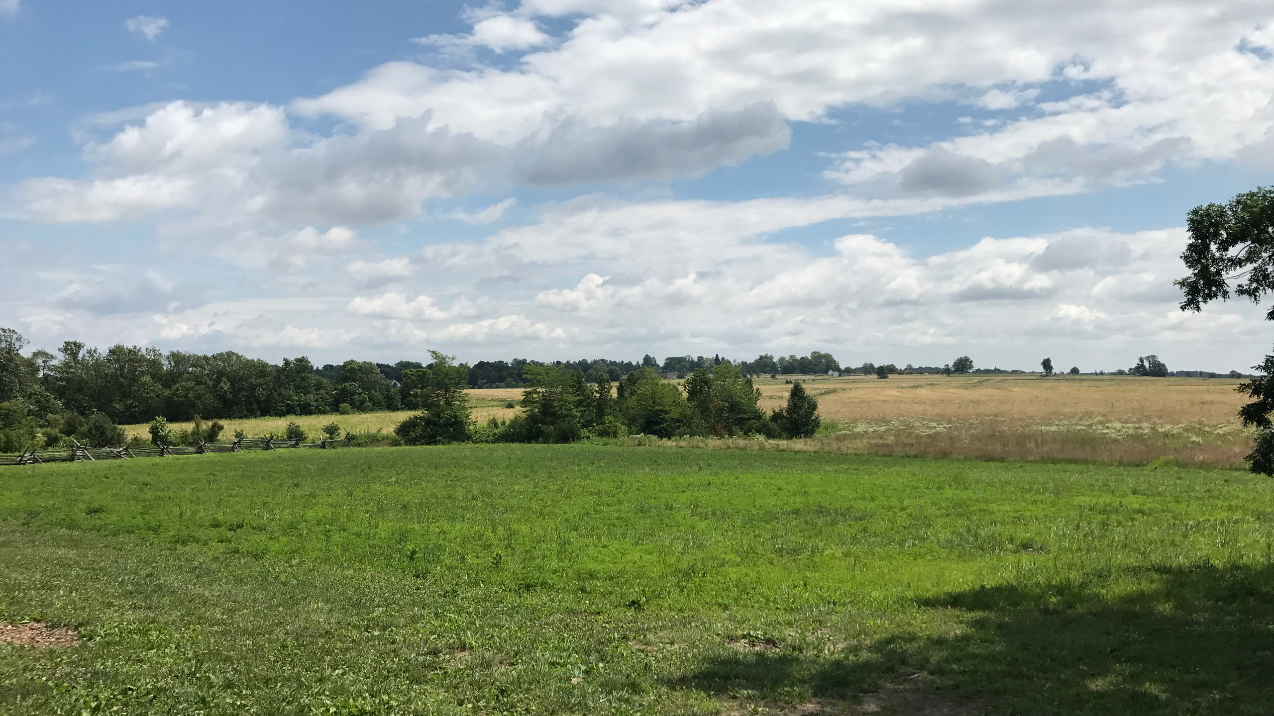 Starting Point of Pickett's Charge