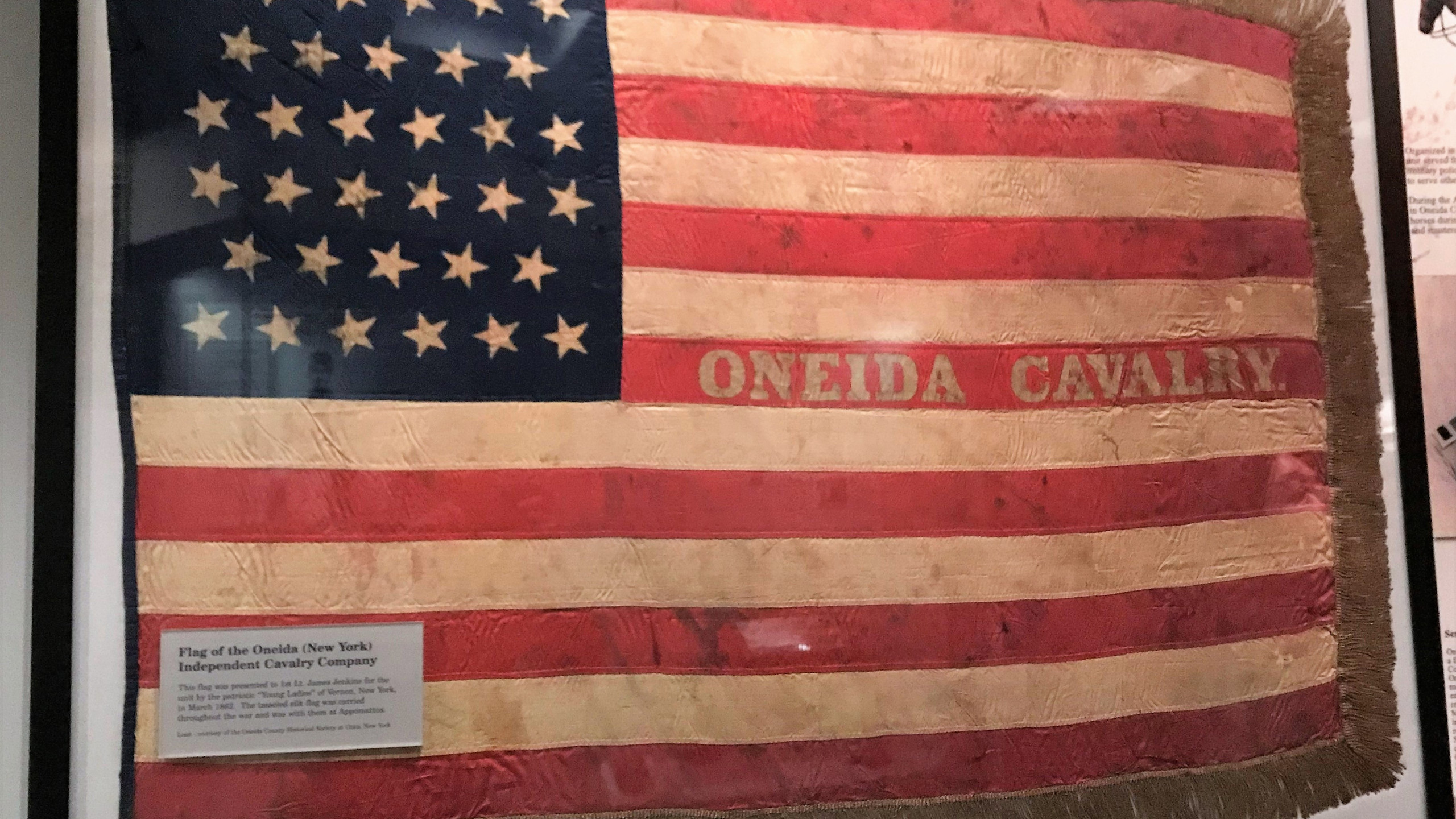 Oneida Cavalry Flag