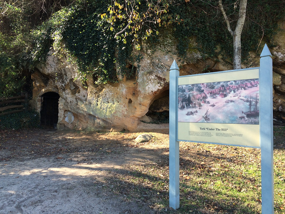 Bluff-side caves