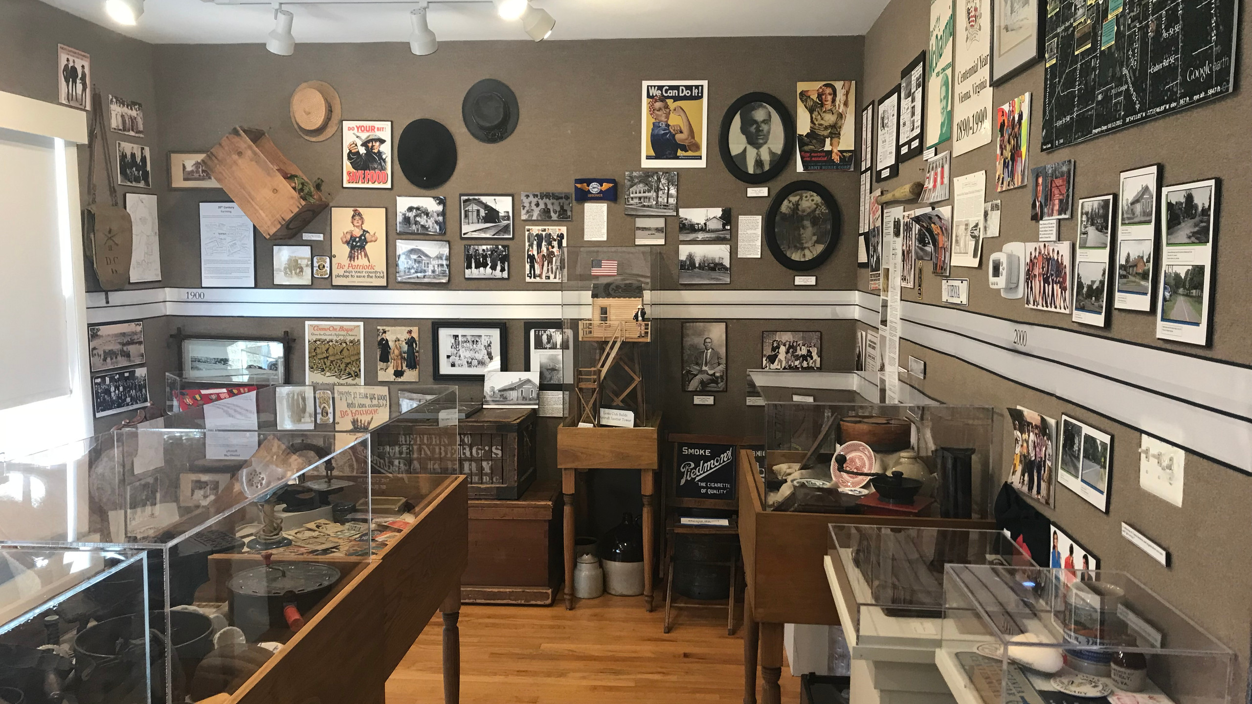 Museum Exhibit at Freeman House