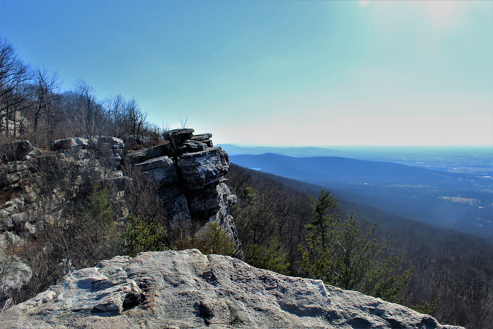 South View of Black Rock