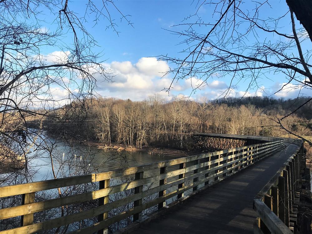 Trestle Bridge over the Holston River