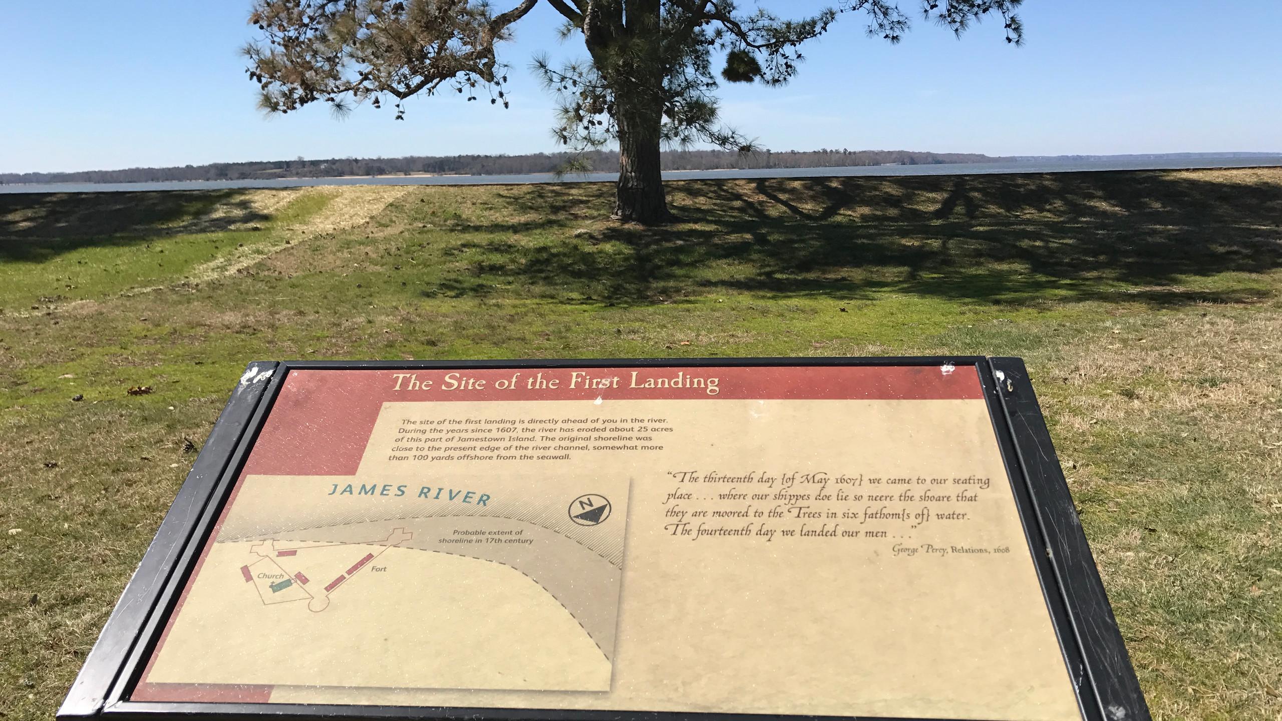 First Landing Site
