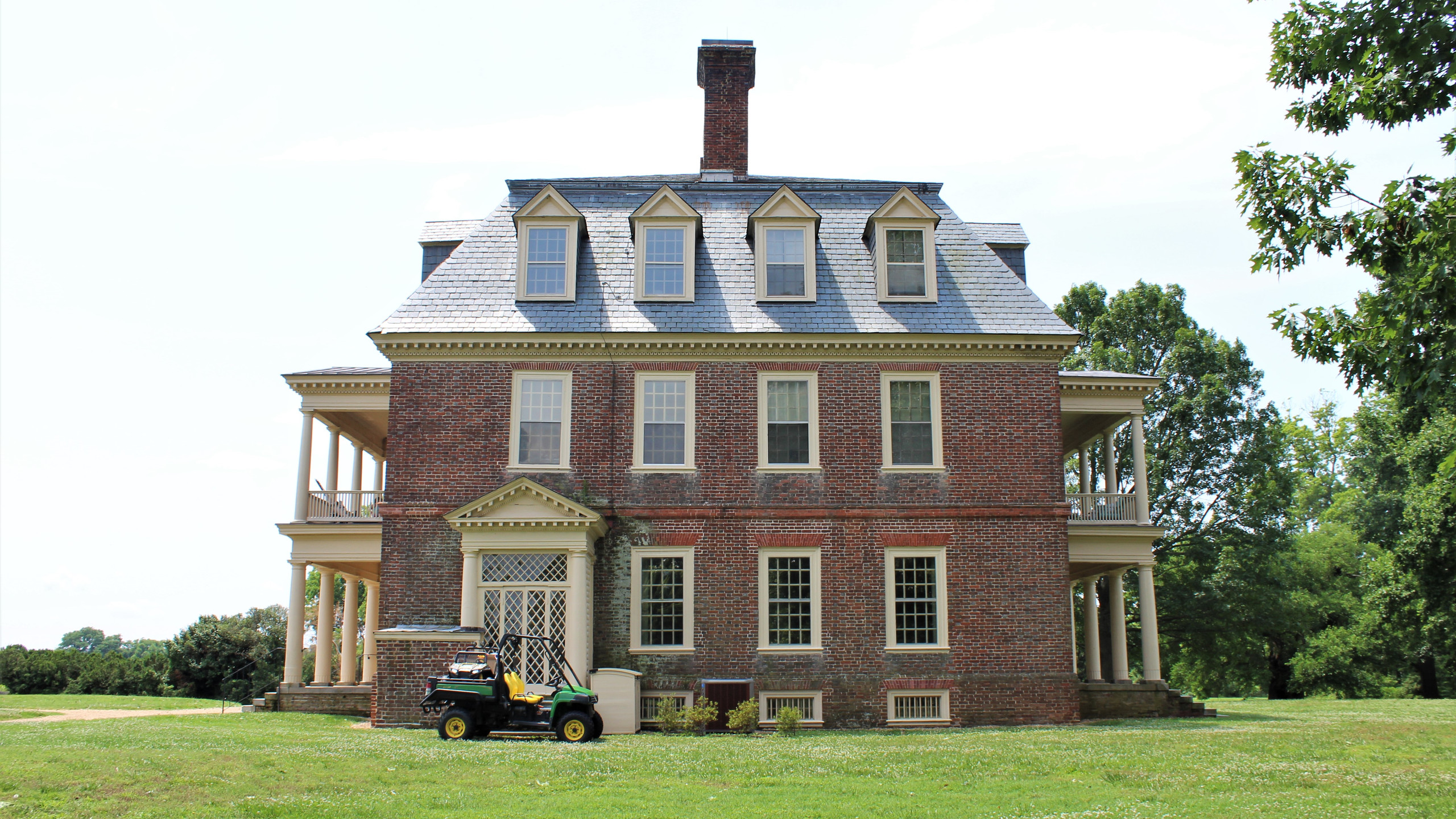 North View of the Great House