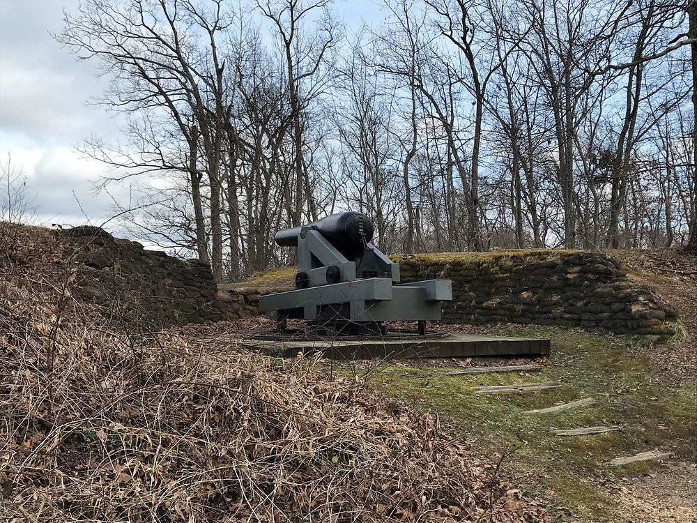 Seacoast Gun Placement at Drewry's Bluff