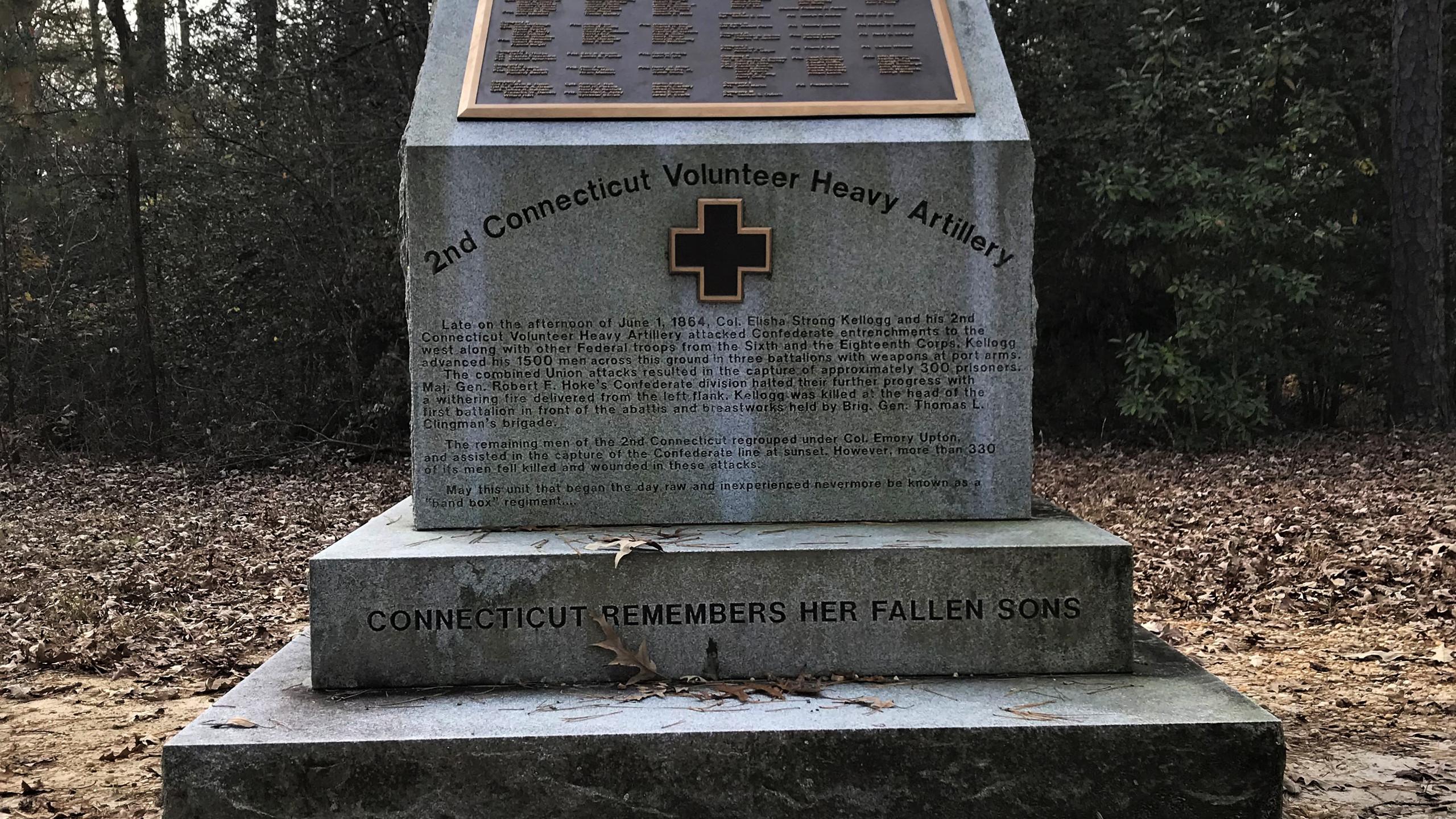2nd Connecticut Artillery Monument